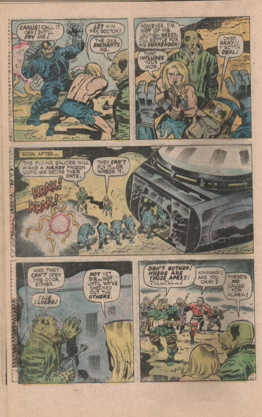 Kamandi, The Last Boy On Earth issue 32 - Page 24