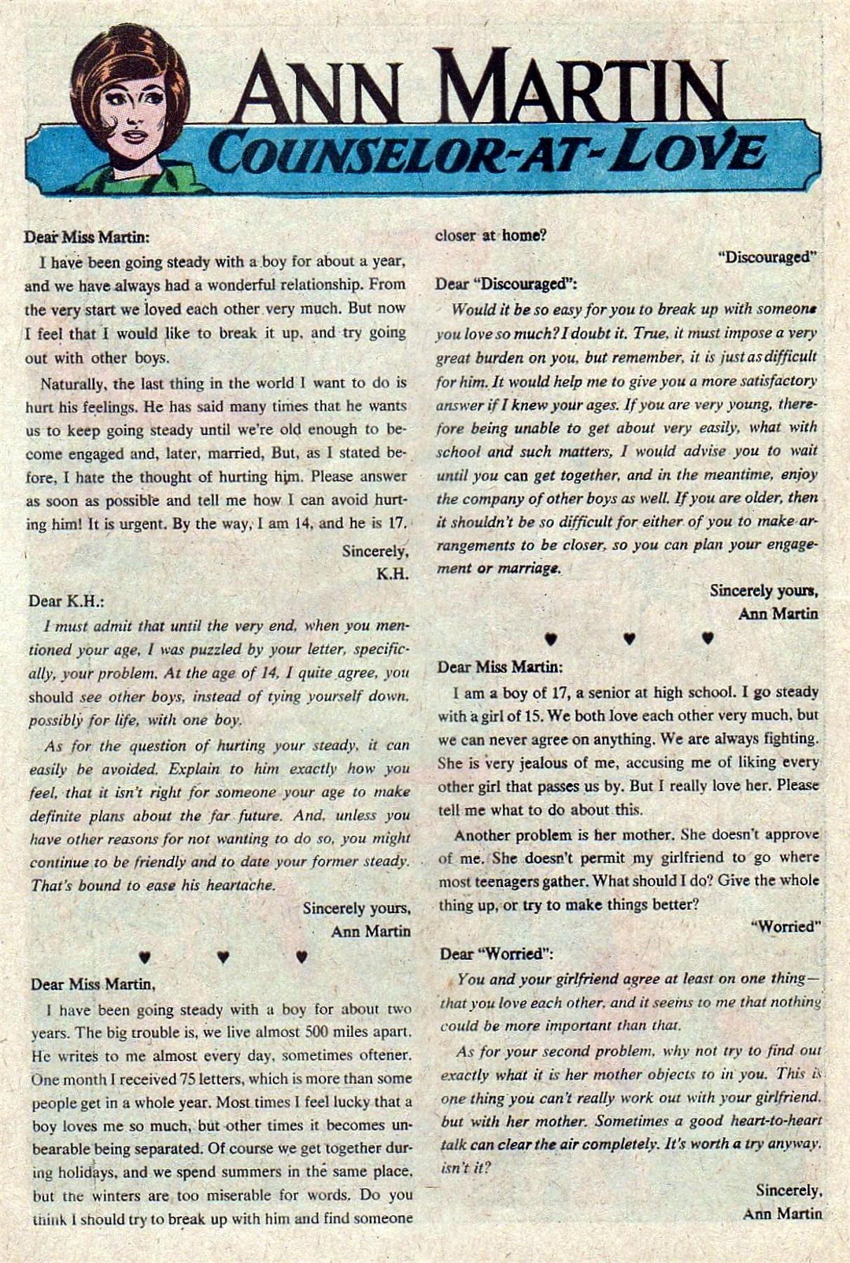 Read online Secret Hearts comic -  Issue #129 - 10