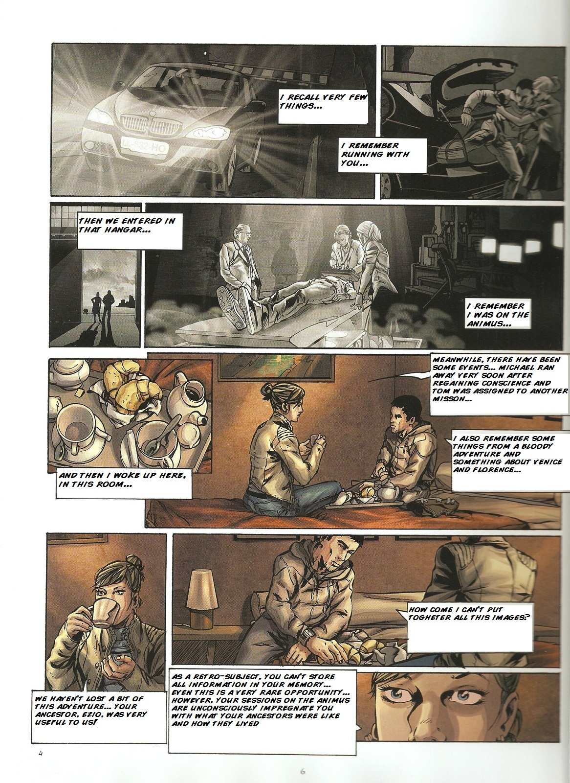 Read online Assassin's Creed (2009) comic -  Issue #2 - 6