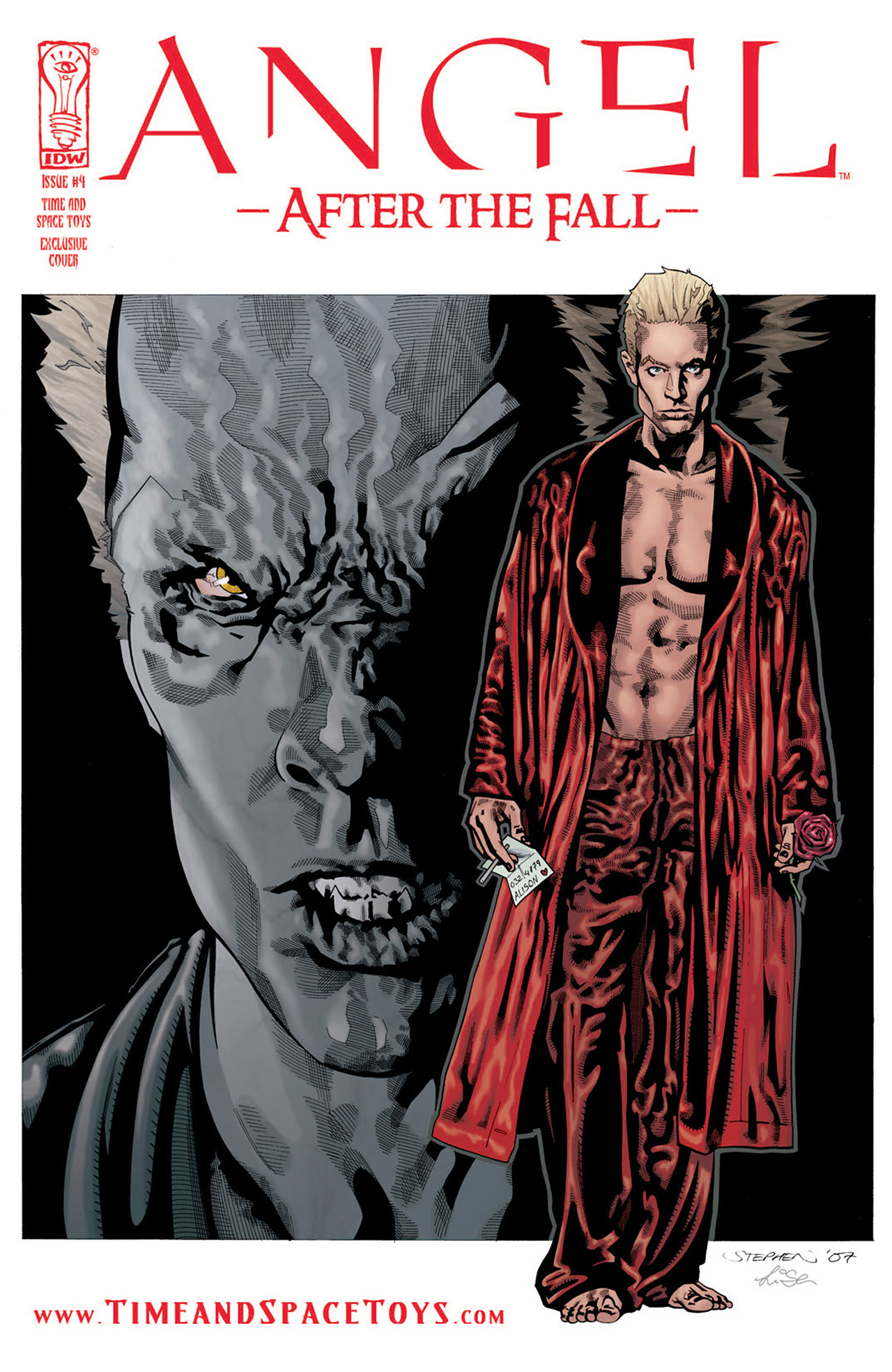Read online Angel: After The Fall comic -  Issue #4 - 2
