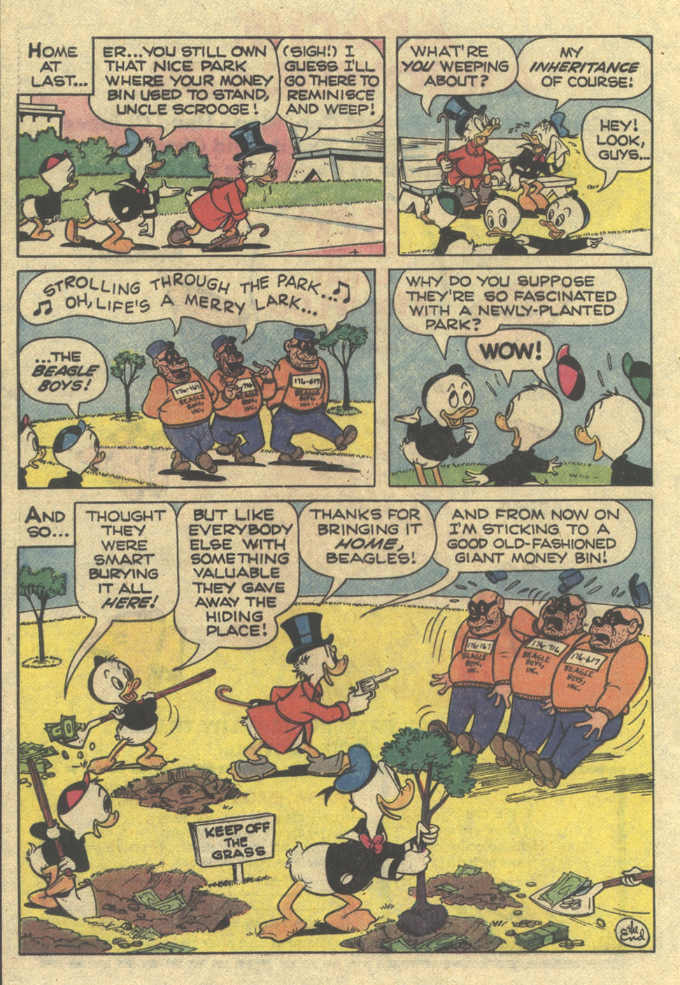 Read online Uncle Scrooge (1953) comic -  Issue #167 - 20