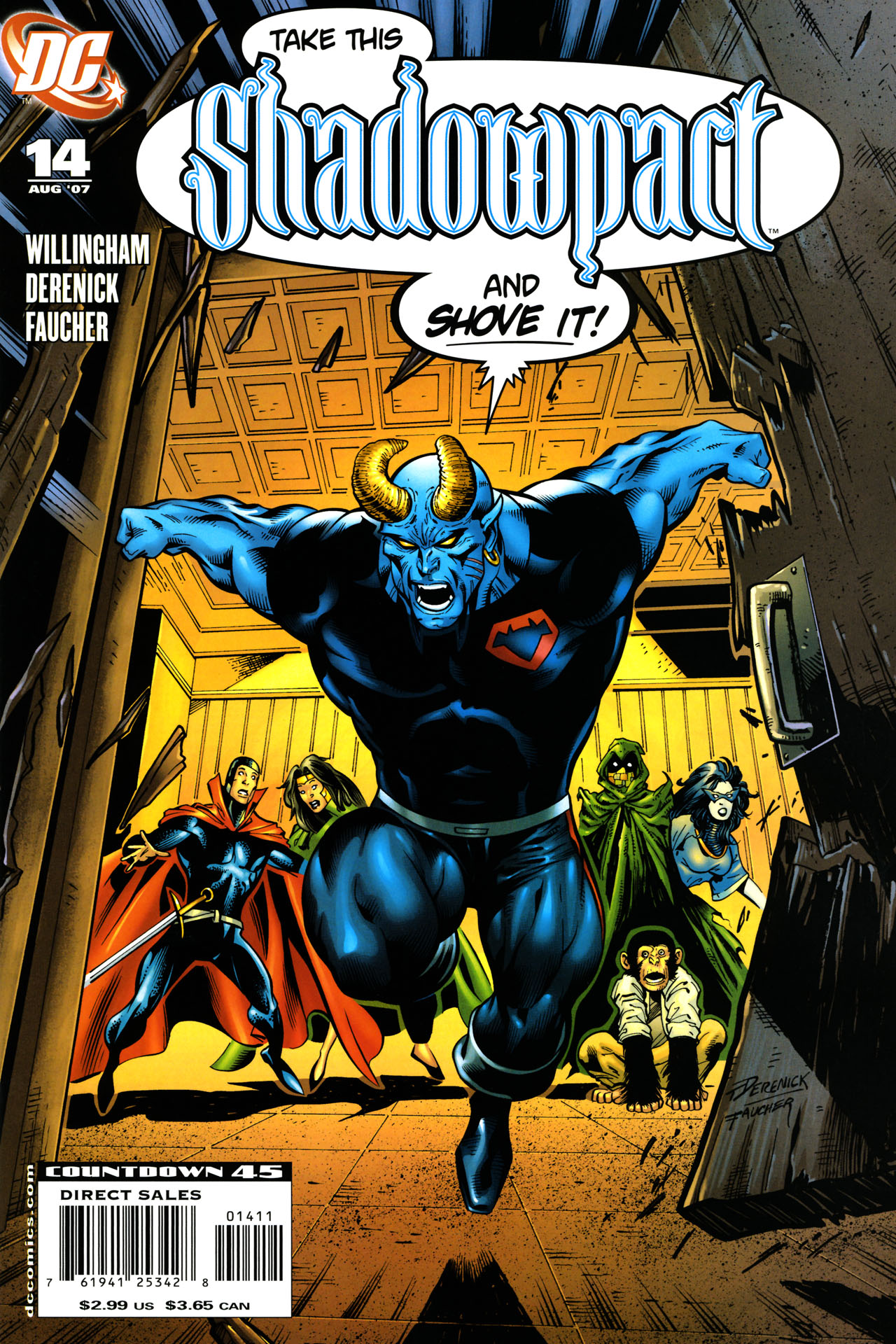 Read online Shadowpact comic -  Issue #14 - 1