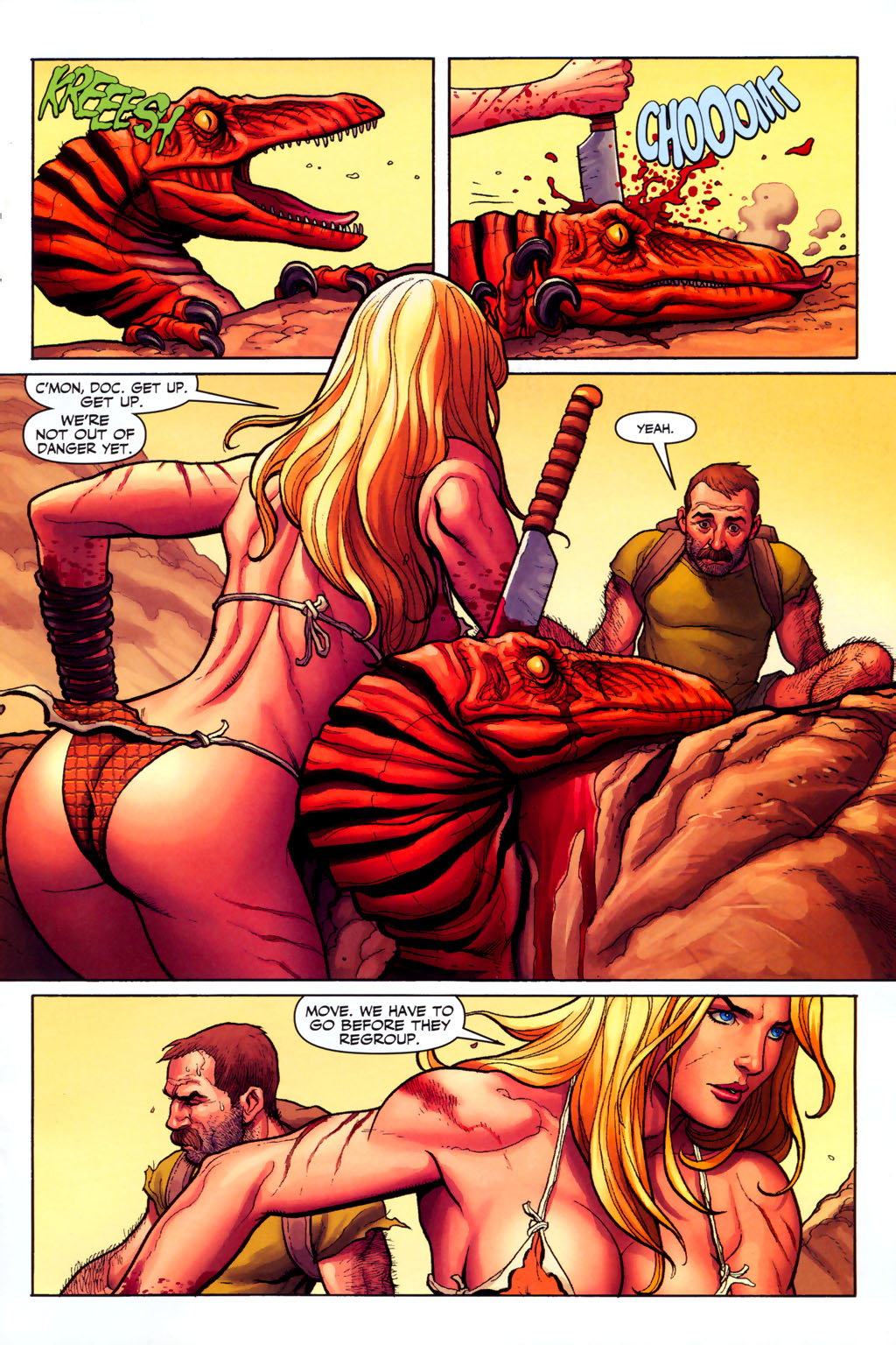 Read online Shanna, the She-Devil (2005) comic -  Issue #6 - 11