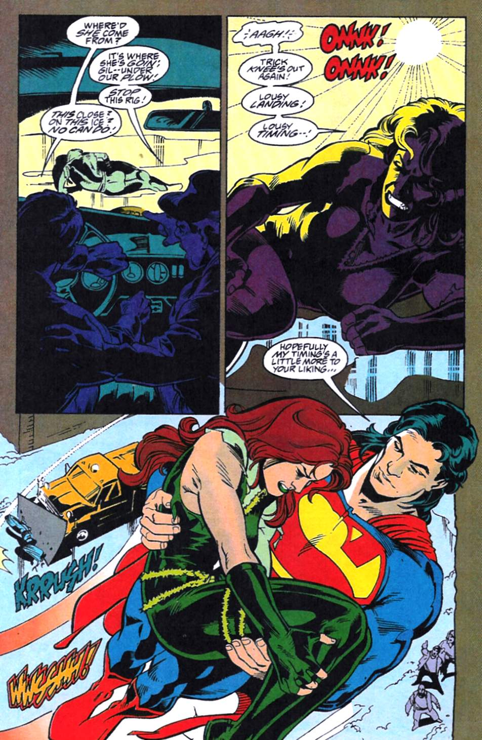 Read online Adventures of Superman (1987) comic -  Issue #521 - 19