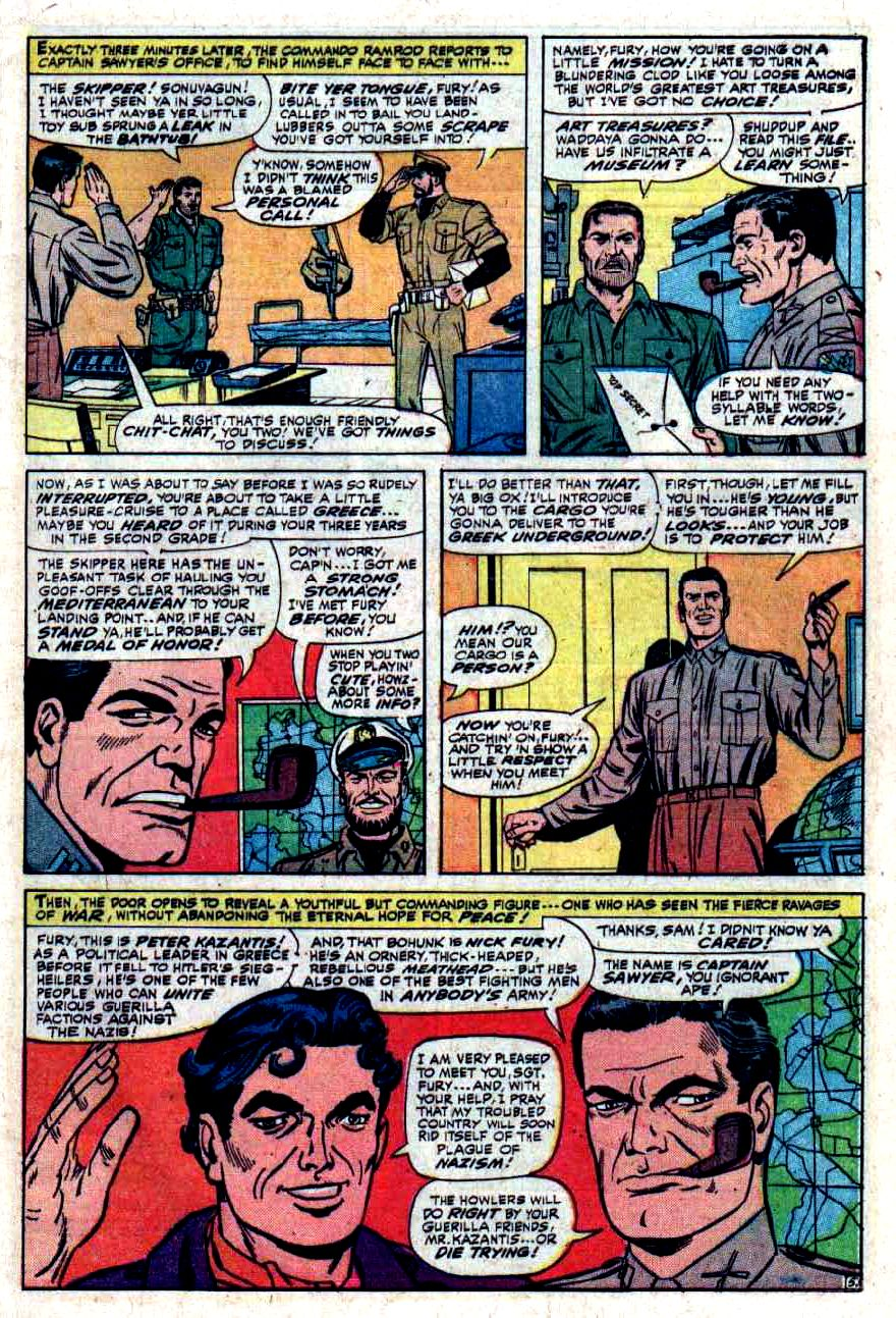 Read online Sgt. Fury comic -  Issue #33 - 9