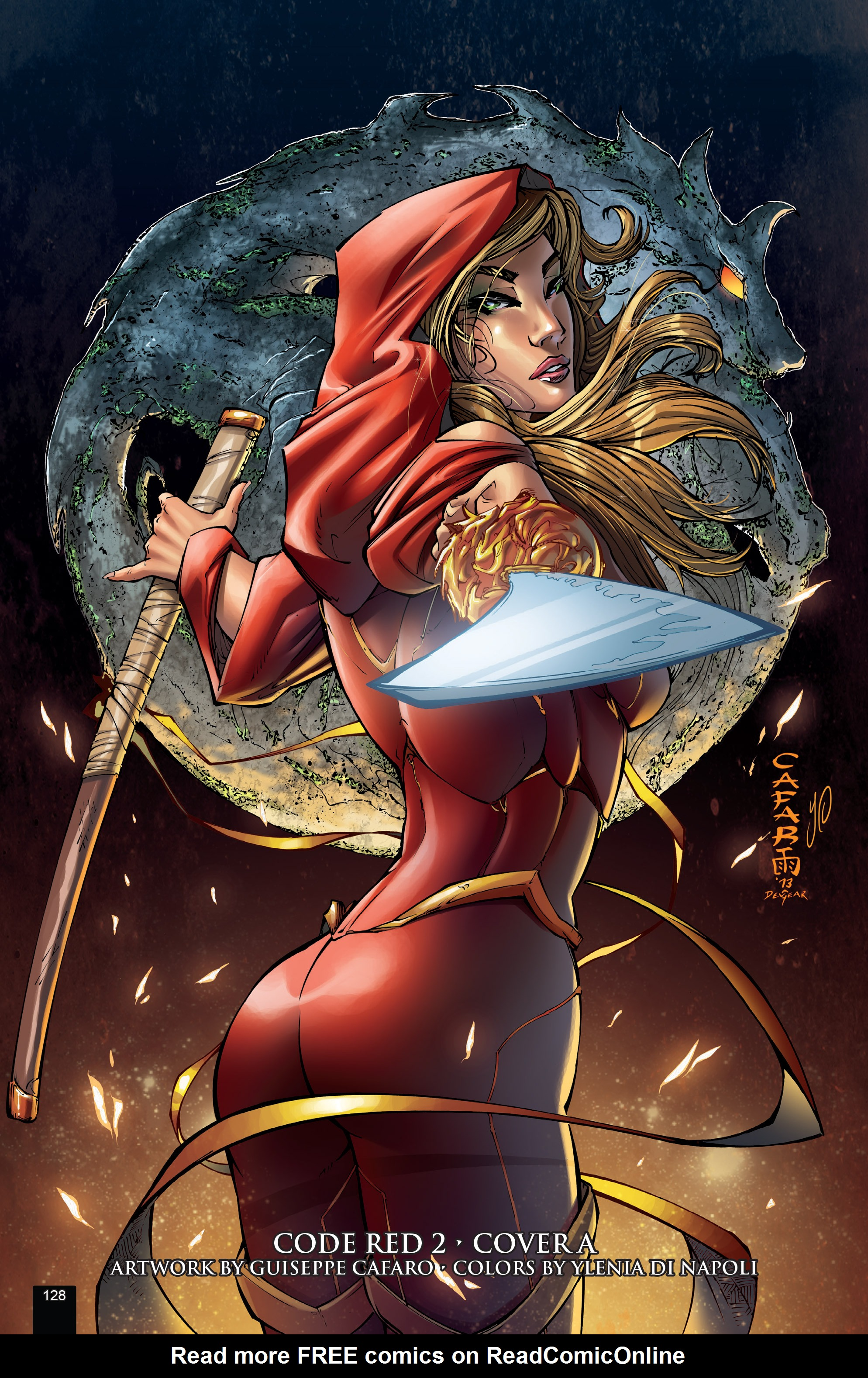 Read online Grimm Fairy Tales presents Code Red comic -  Issue # TPB - 128