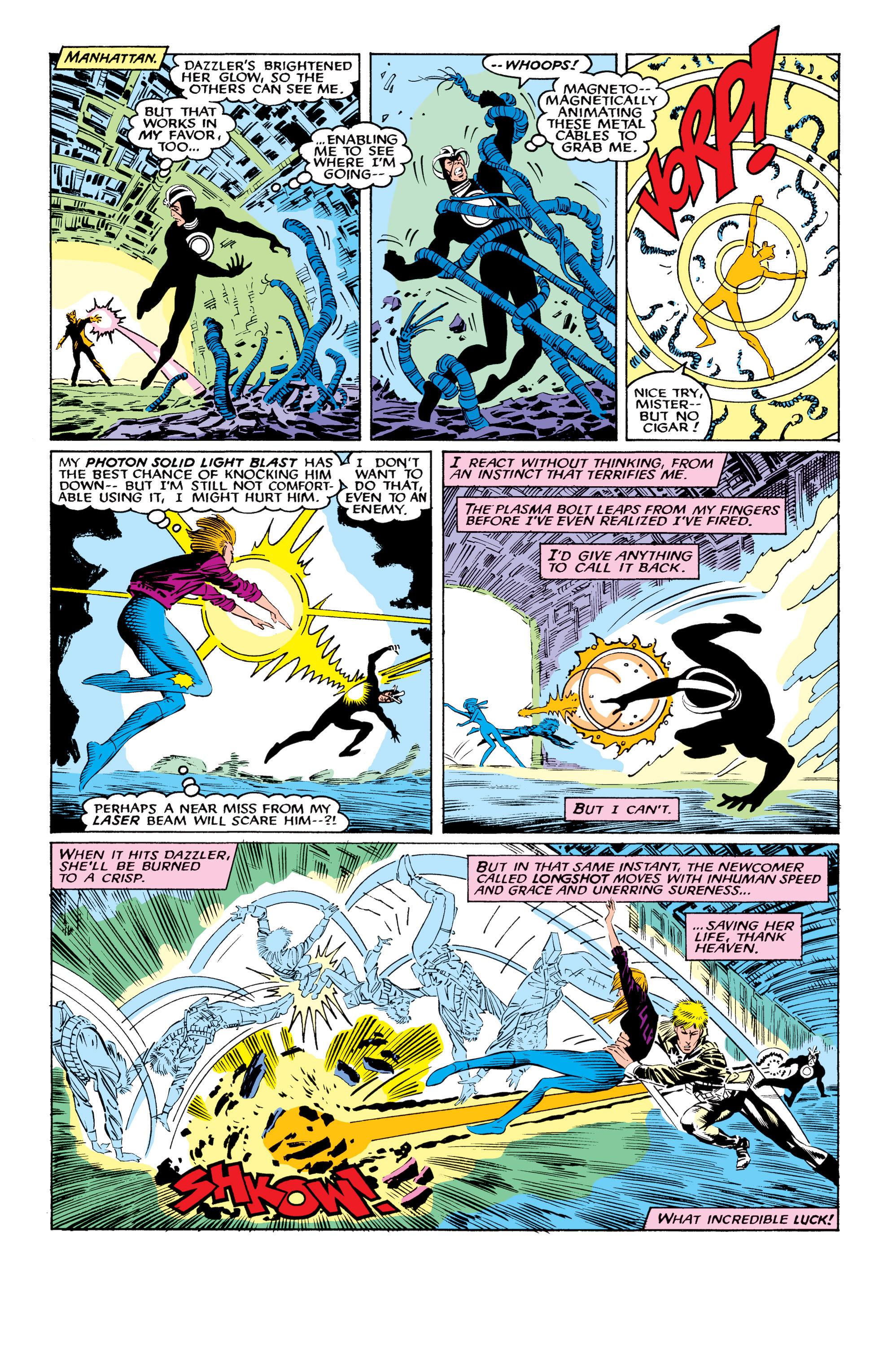 Read online Uncanny X-Men (1963) comic -  Issue #219 - 21