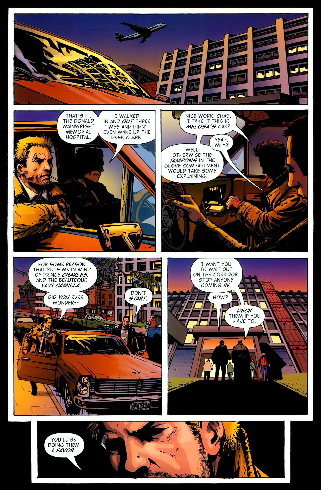Read online John Constantine Hellblazer: All His Engines comic -  Issue # Full - 99