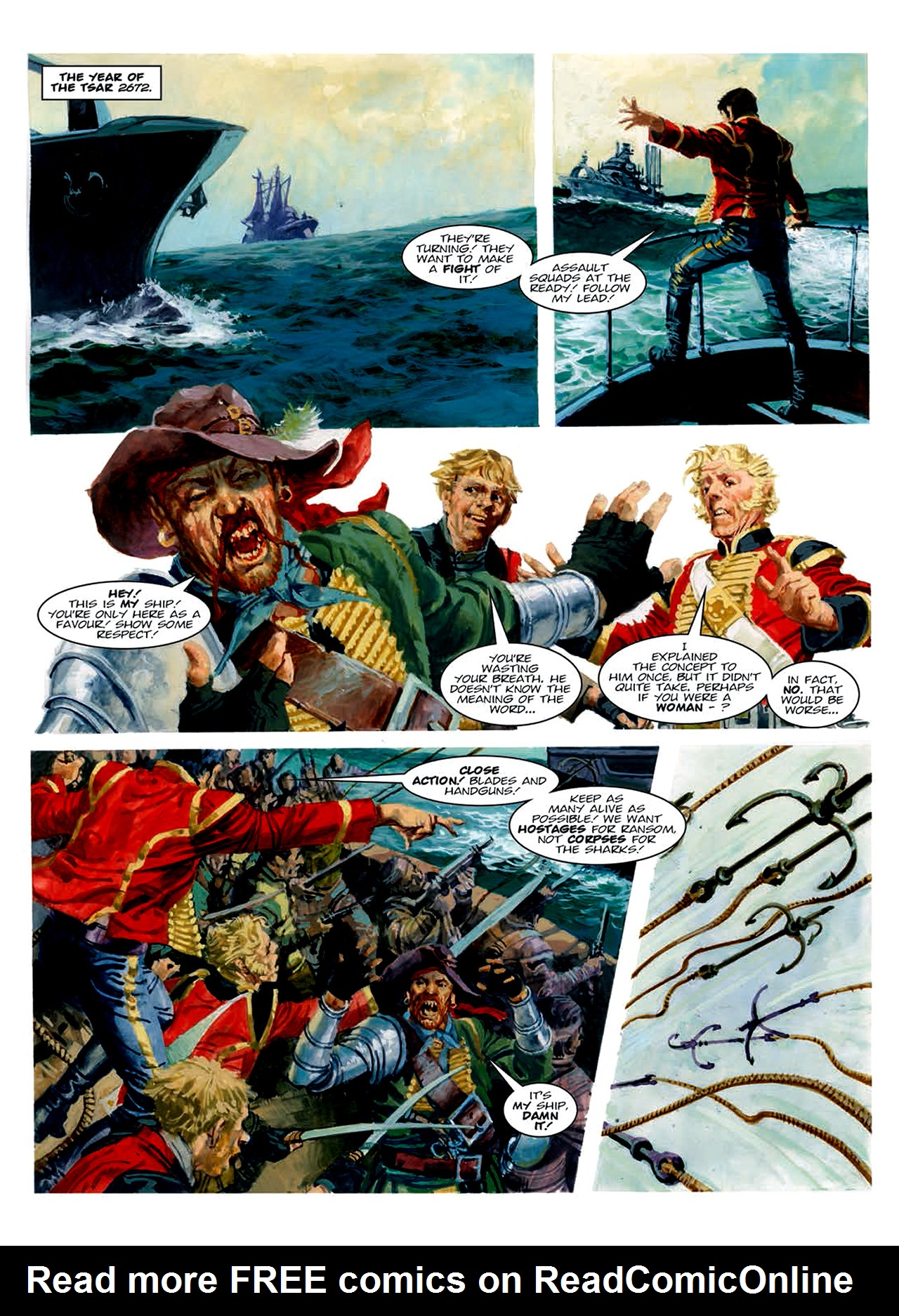 Read online Nikolai Dante comic -  Issue # TPB 6 - 145