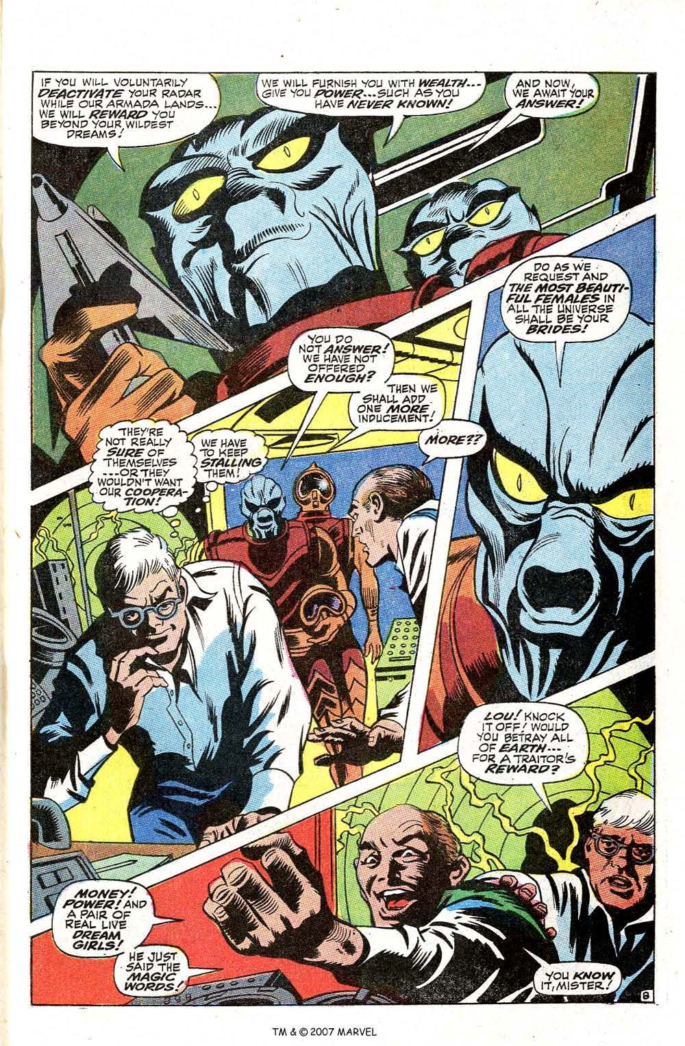Read online Silver Surfer (1968) comic -  Issue #2 - 63
