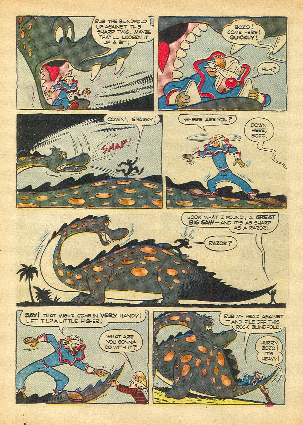 Four Color Comics issue 594 - Page 22