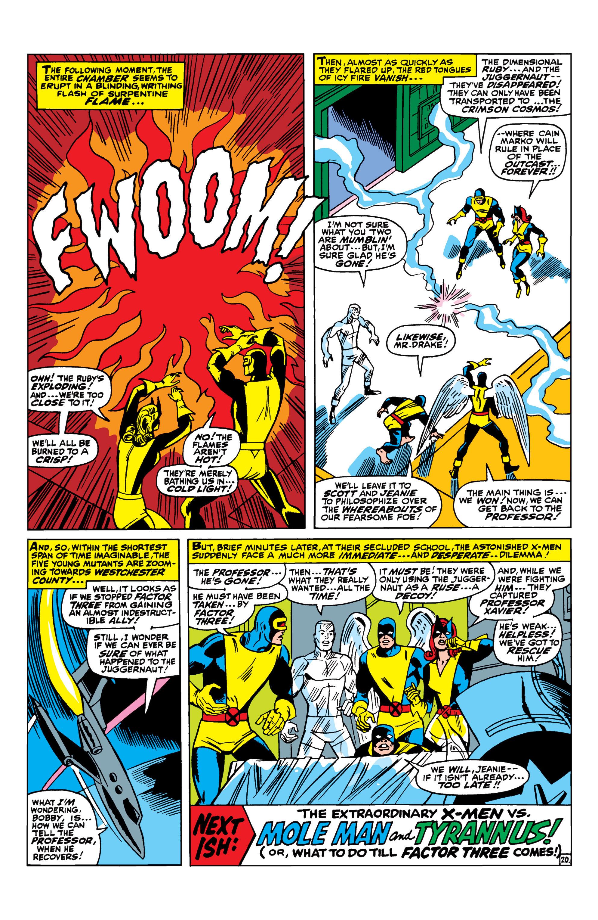 Uncanny X-Men (1963) 33 Page 20