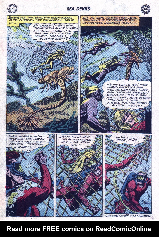 Read online Sea Devils comic -  Issue #15 - 17