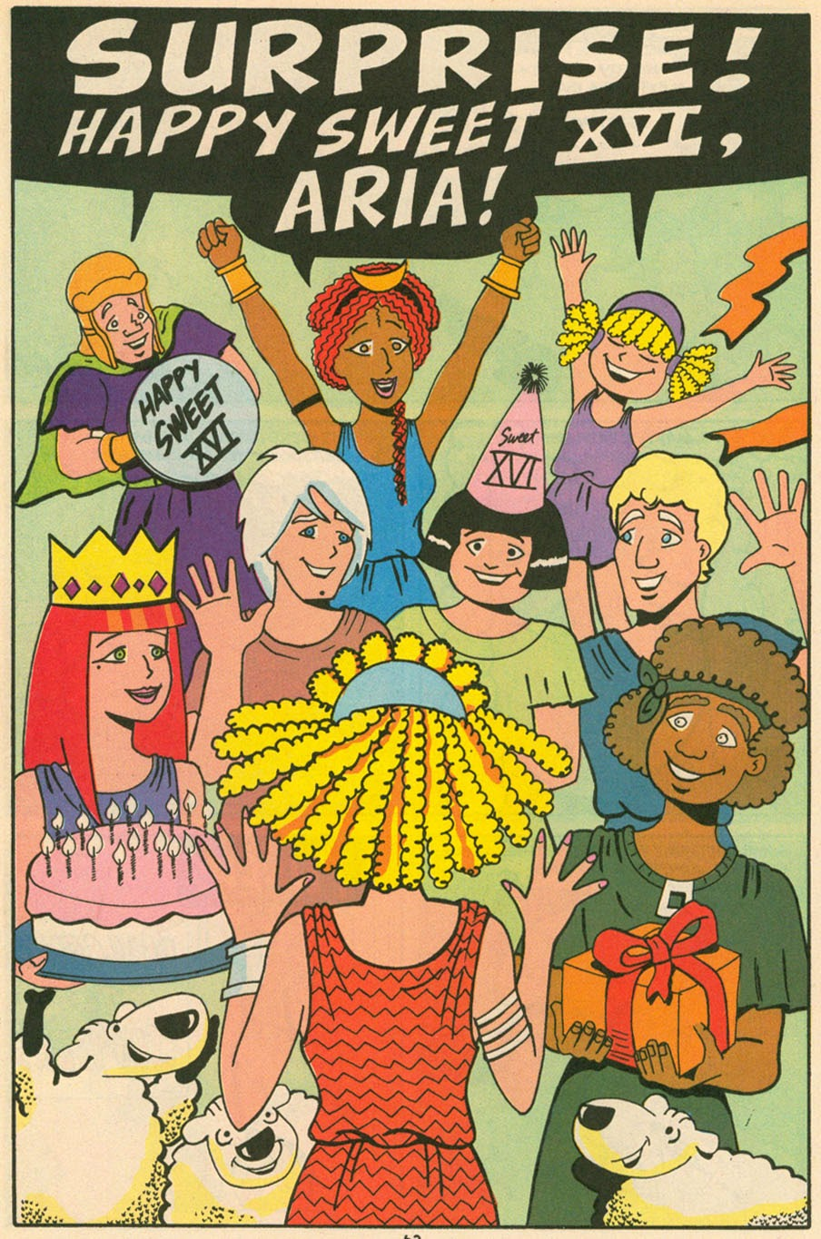 Read online Sweet XVI (Sixteen): Back To School Special comic -  Issue # Full - 54