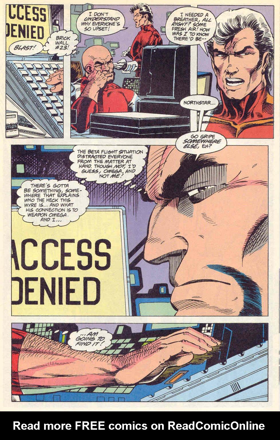 Read online Alpha Flight (1983) comic -  Issue #115 - 21