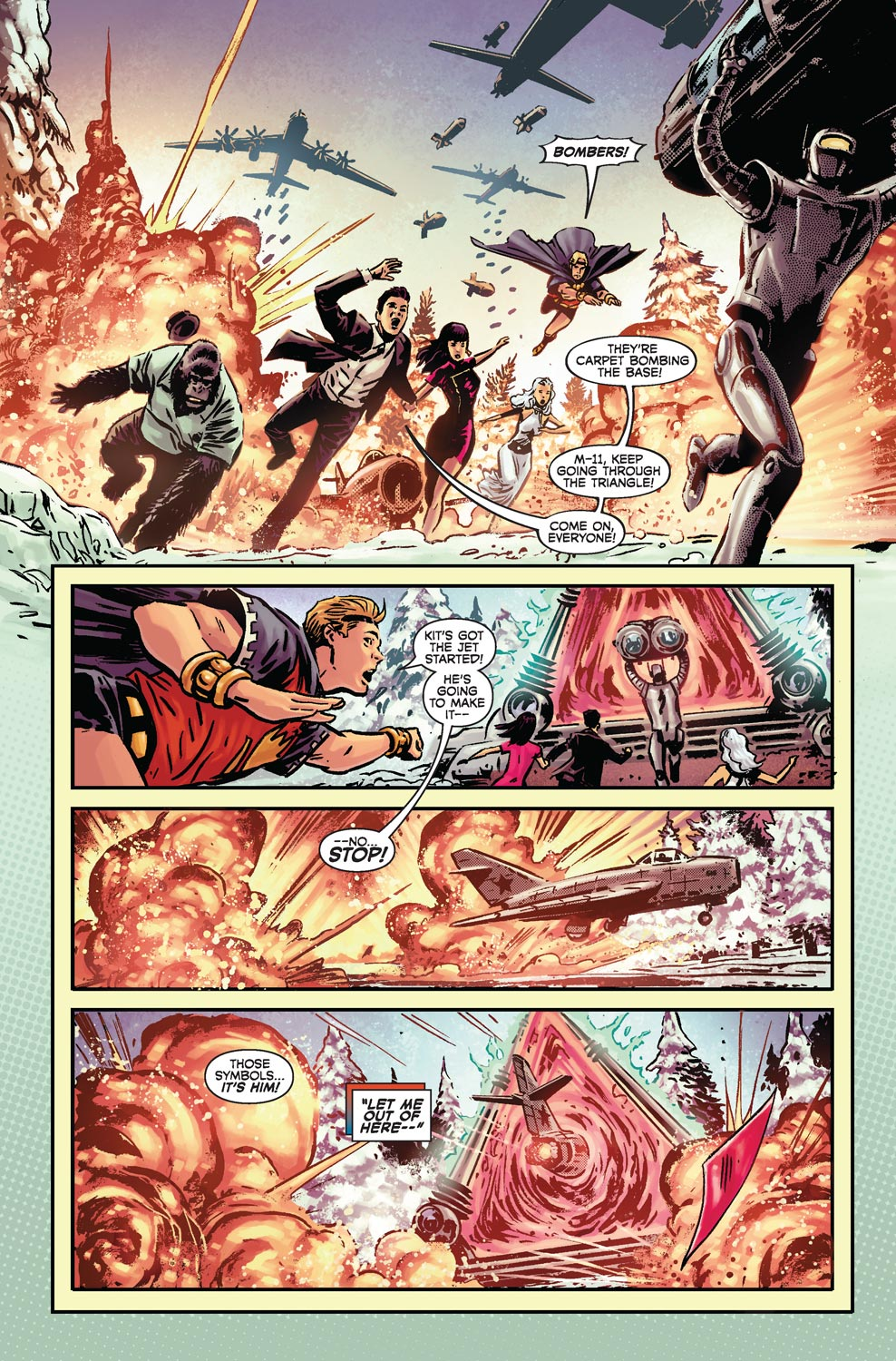 Read online Agents Of Atlas (2009) comic -  Issue #4 - 12