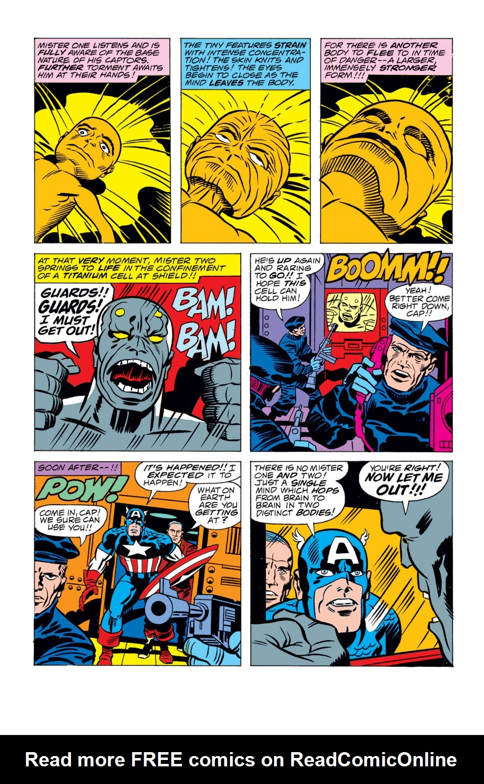 Read online Captain America (1968) comic -  Issue # _Annual 4 - 24
