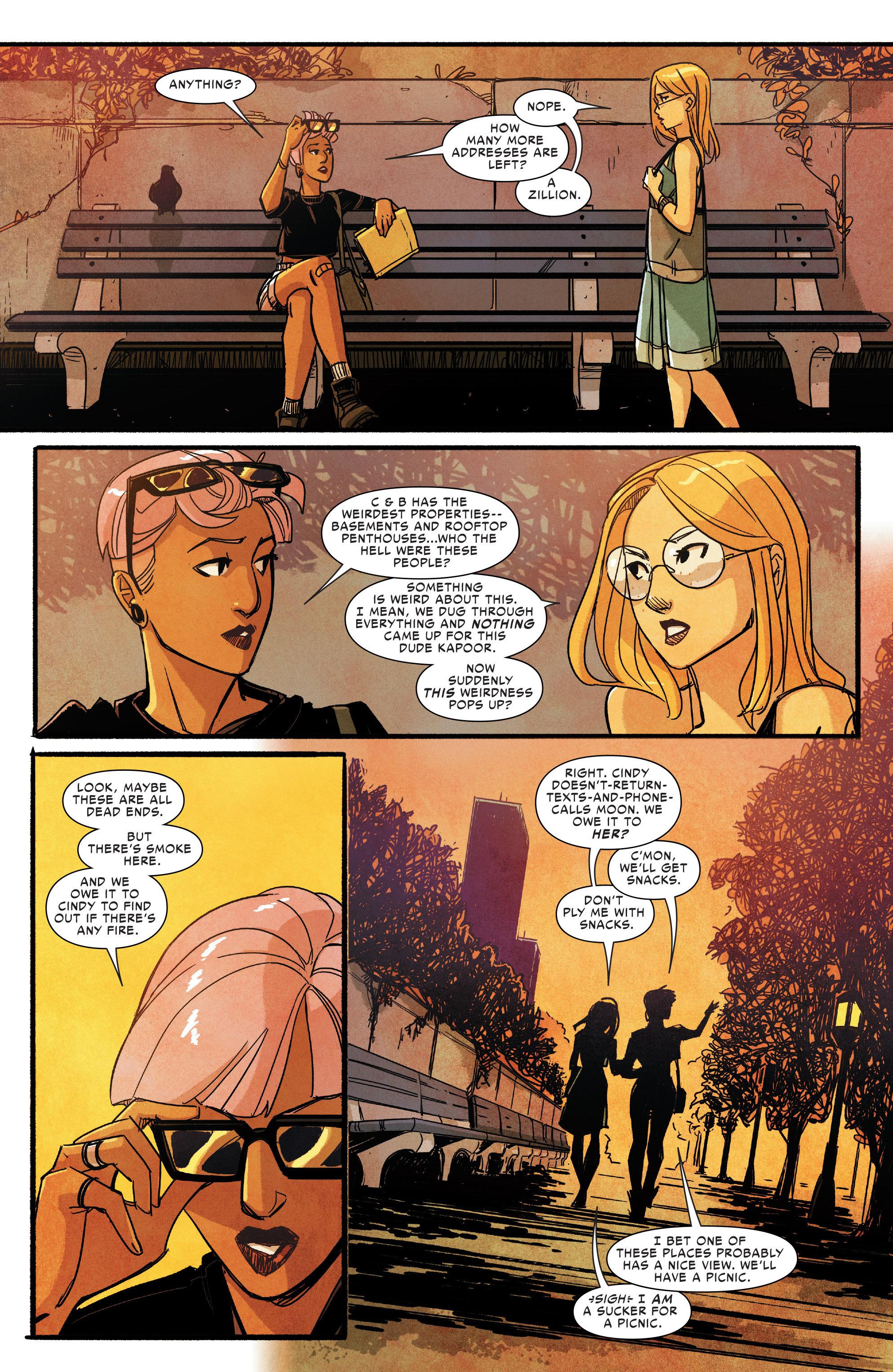 Read online Silk (2016) comic -  Issue #9 - 15