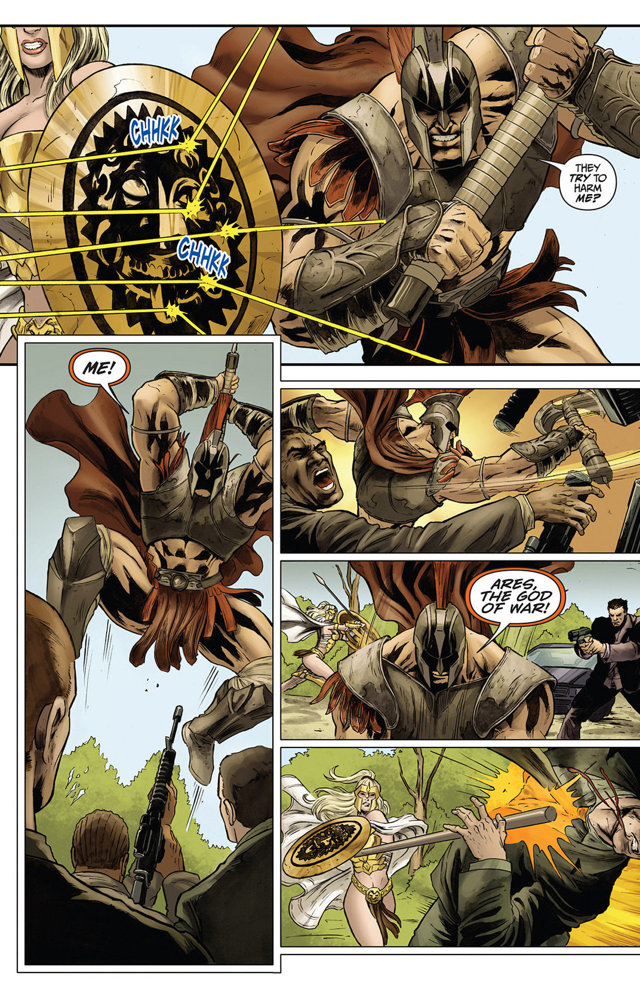 Read online Athena comic -  Issue #3 - 7