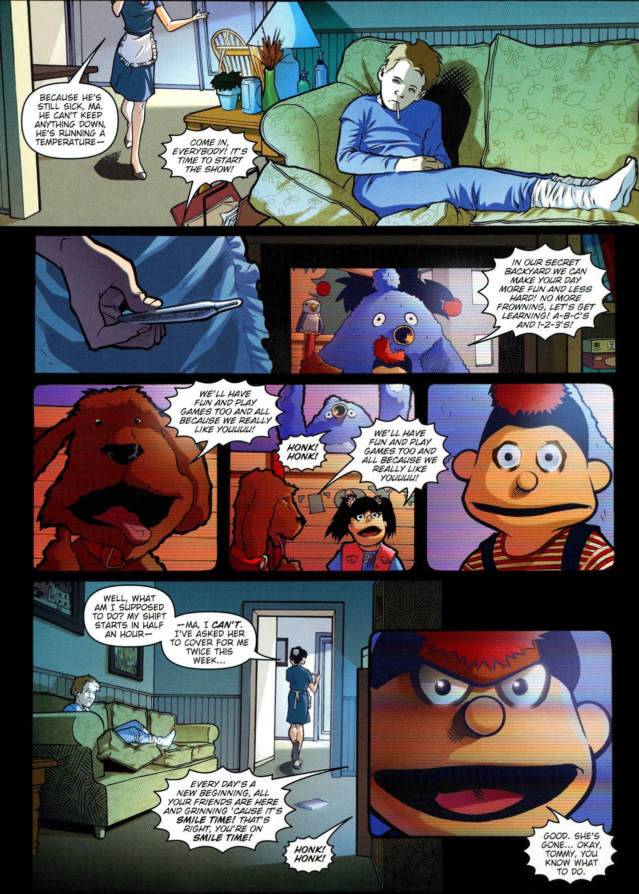 Read online Angel: Smile Time comic -  Issue #1 - 4