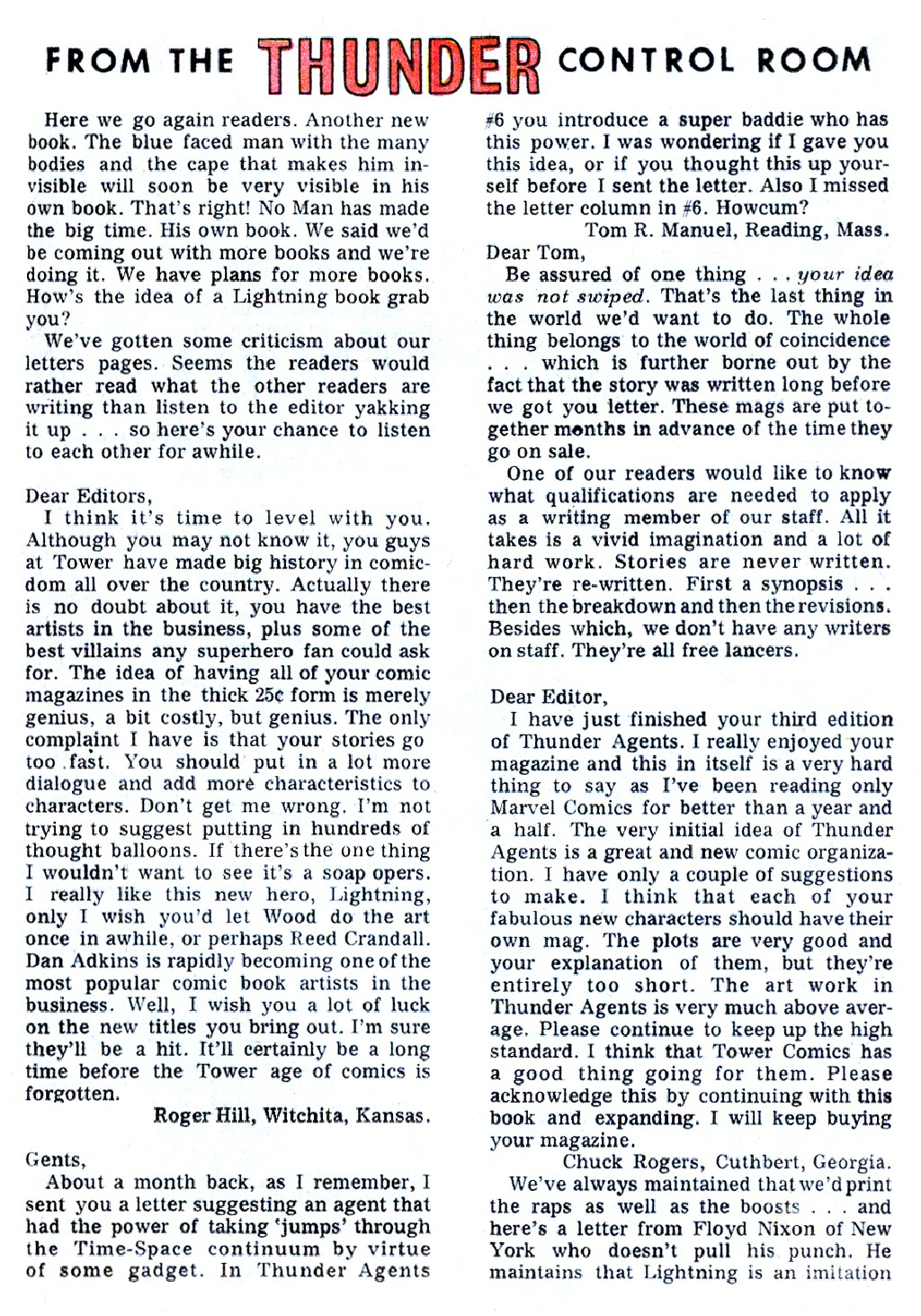 T.H.U.N.D.E.R. Agents (1965) issue 9 - Page 39