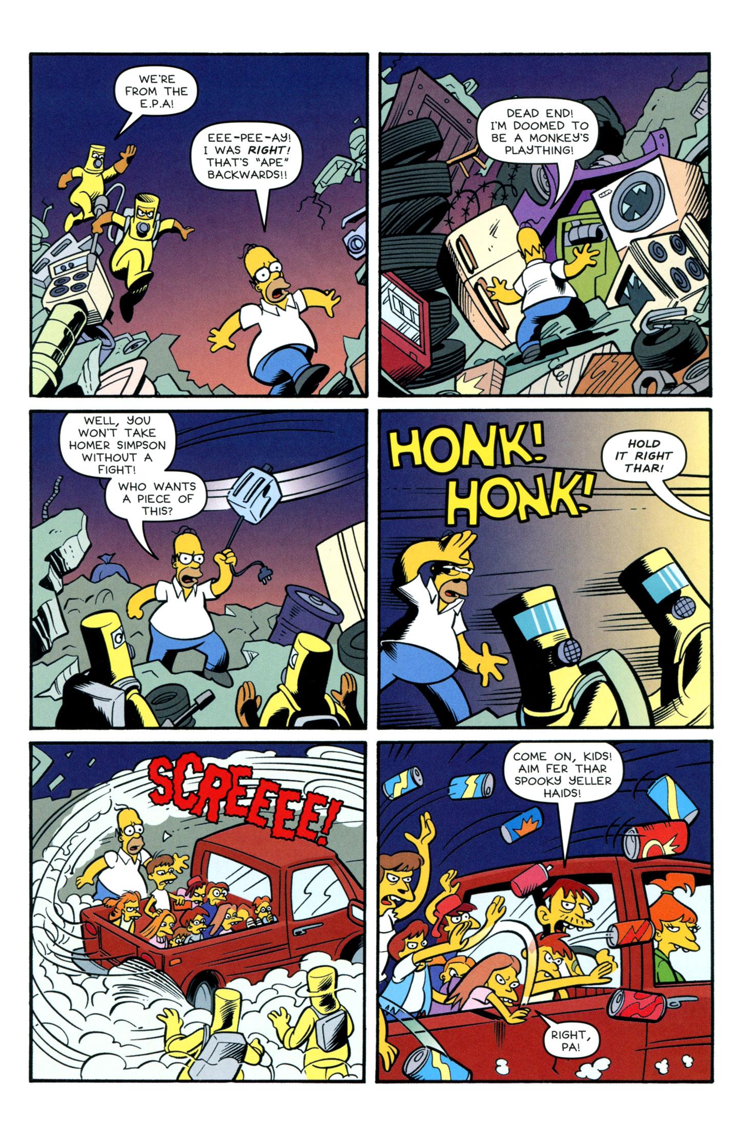 Read online Simpsons Comics comic -  Issue #195 - 24