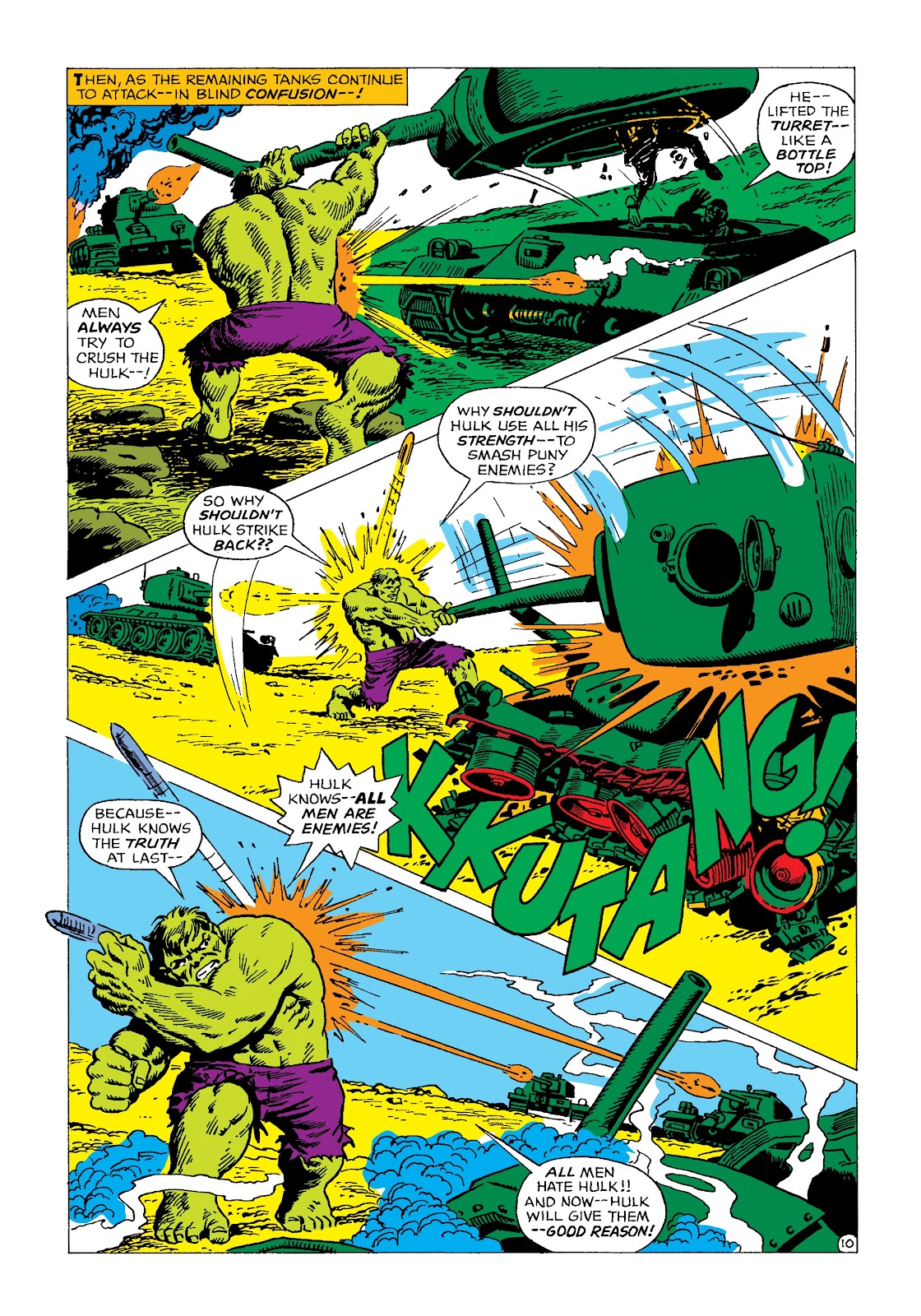 Read online Marvel Masterworks: The Incredible Hulk comic -  Issue # TPB 4 (Part 2) - 22
