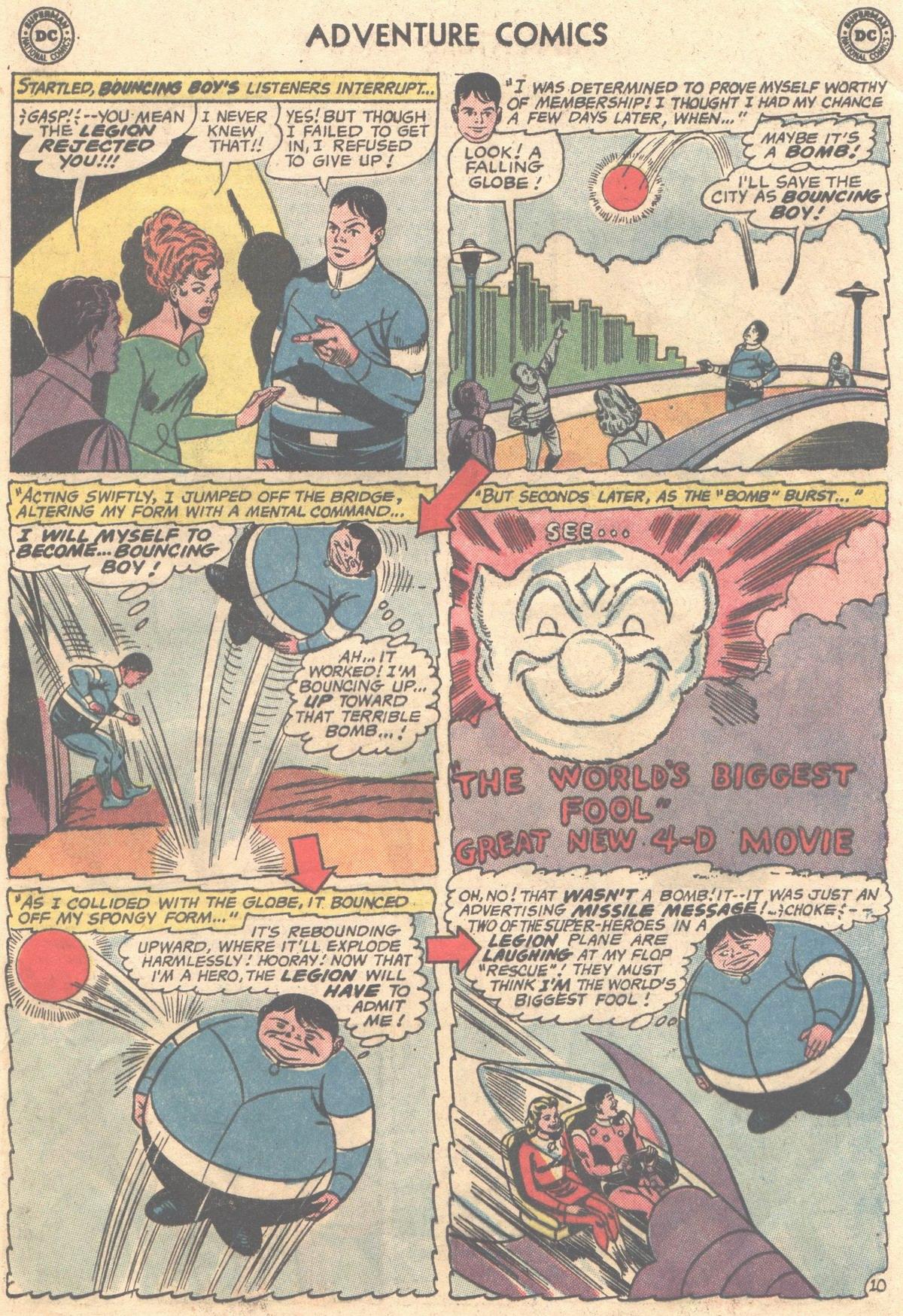 Read online Adventure Comics (1938) comic -  Issue #498 - 21