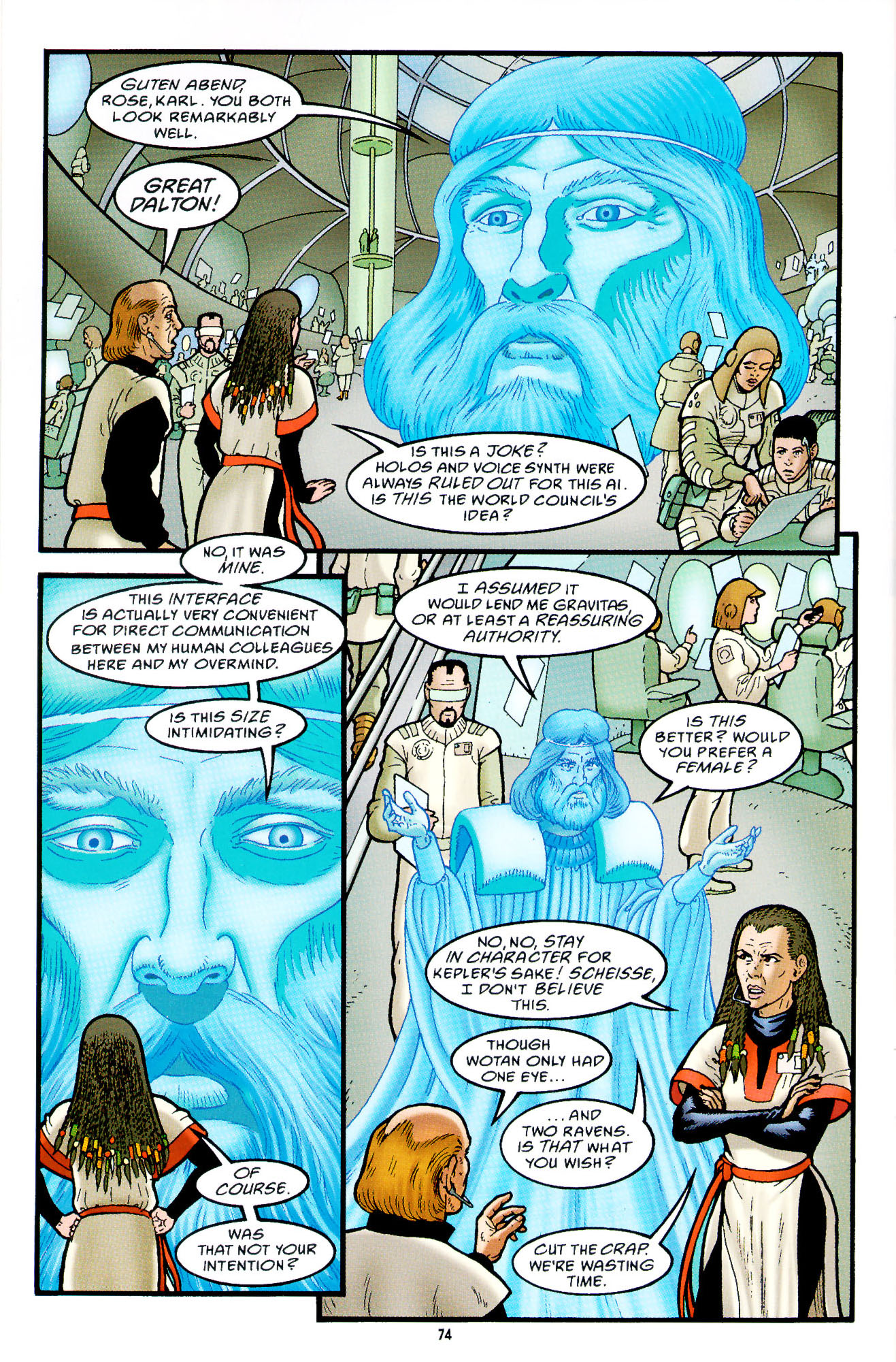 Read online Heart of Empire comic -  Issue #3 - 16