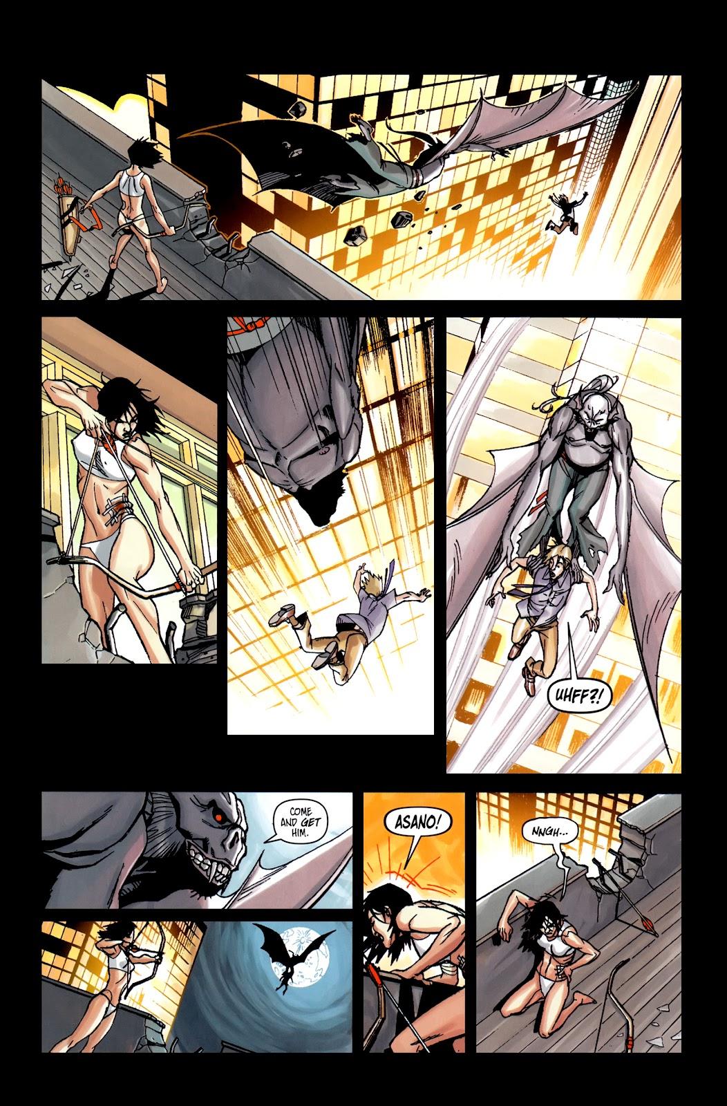 Read online Shinku comic -  Issue #5 - 8