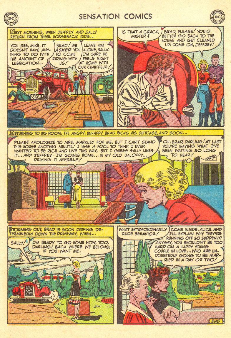 Read online Sensation (Mystery) Comics comic -  Issue #105 - 48
