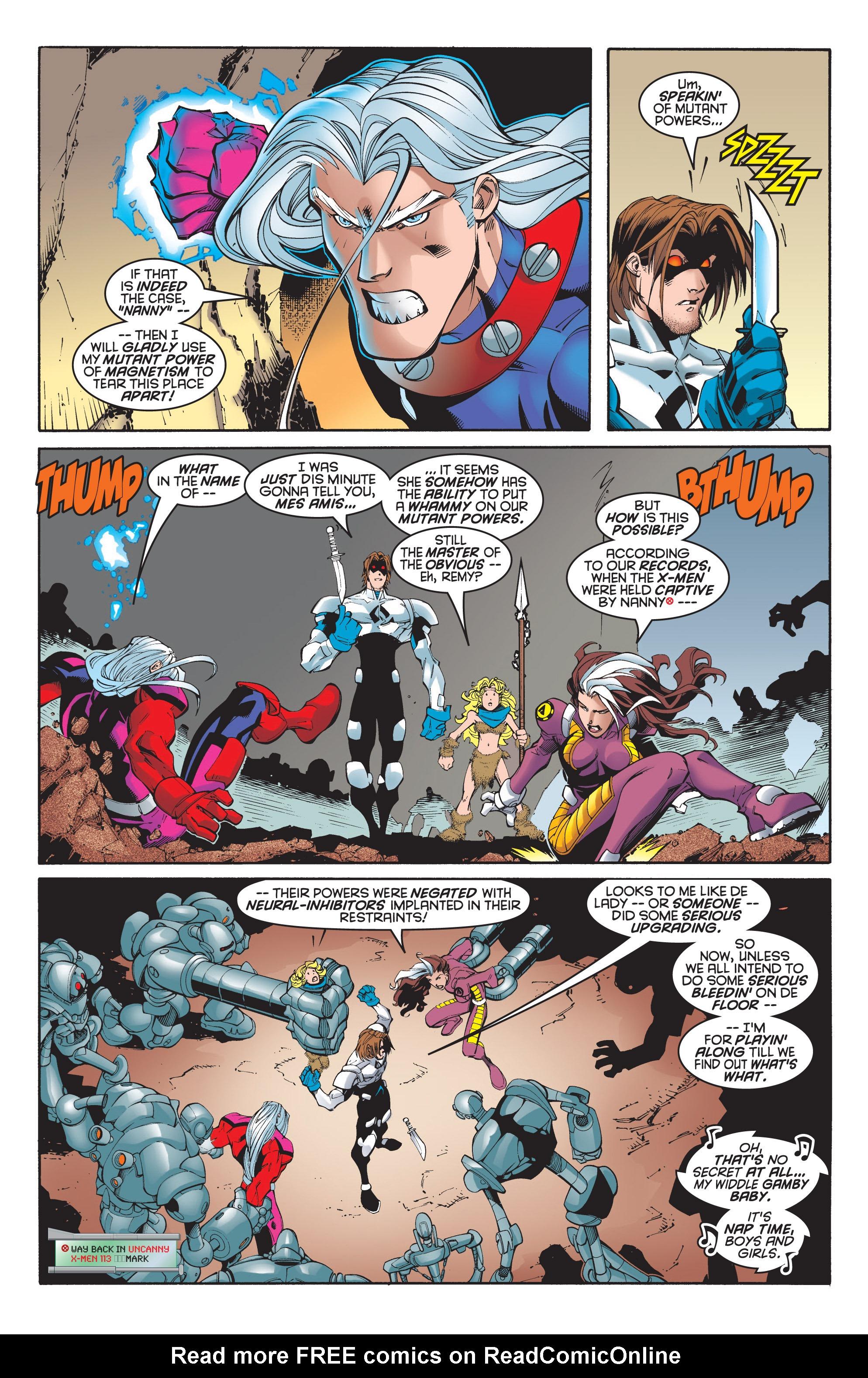 Read online Uncanny X-Men (1963) comic -  Issue #348 - 4
