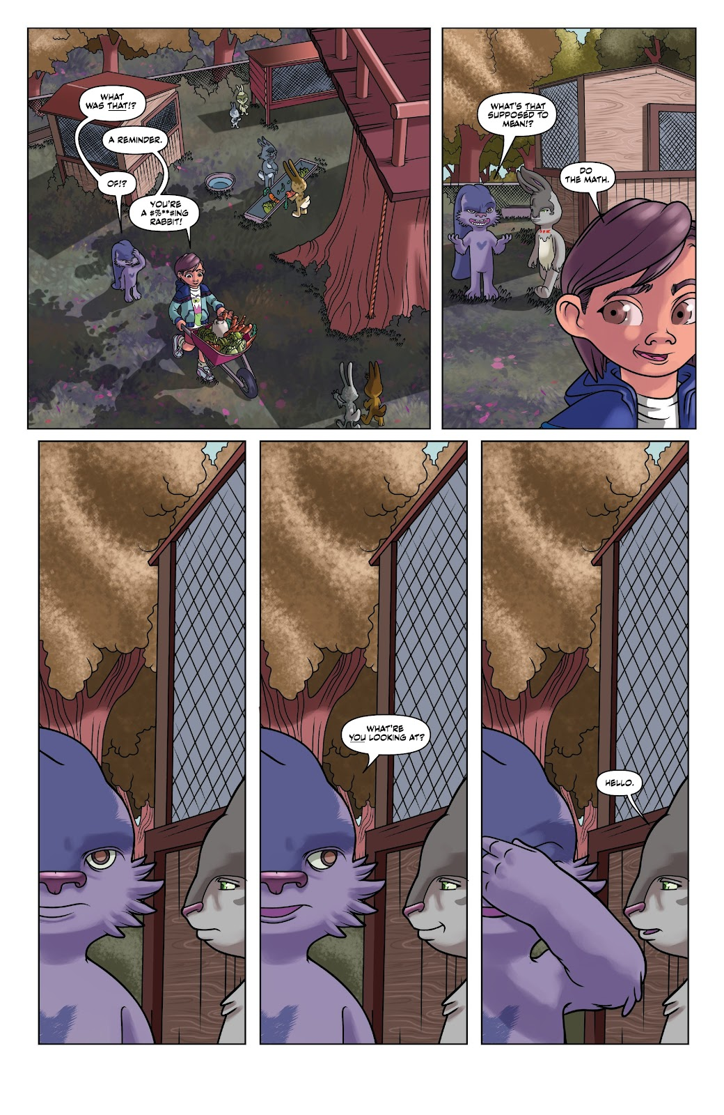 Read online Auntie Agatha's Home For Wayward Rabbits comic -  Issue #4 - 16