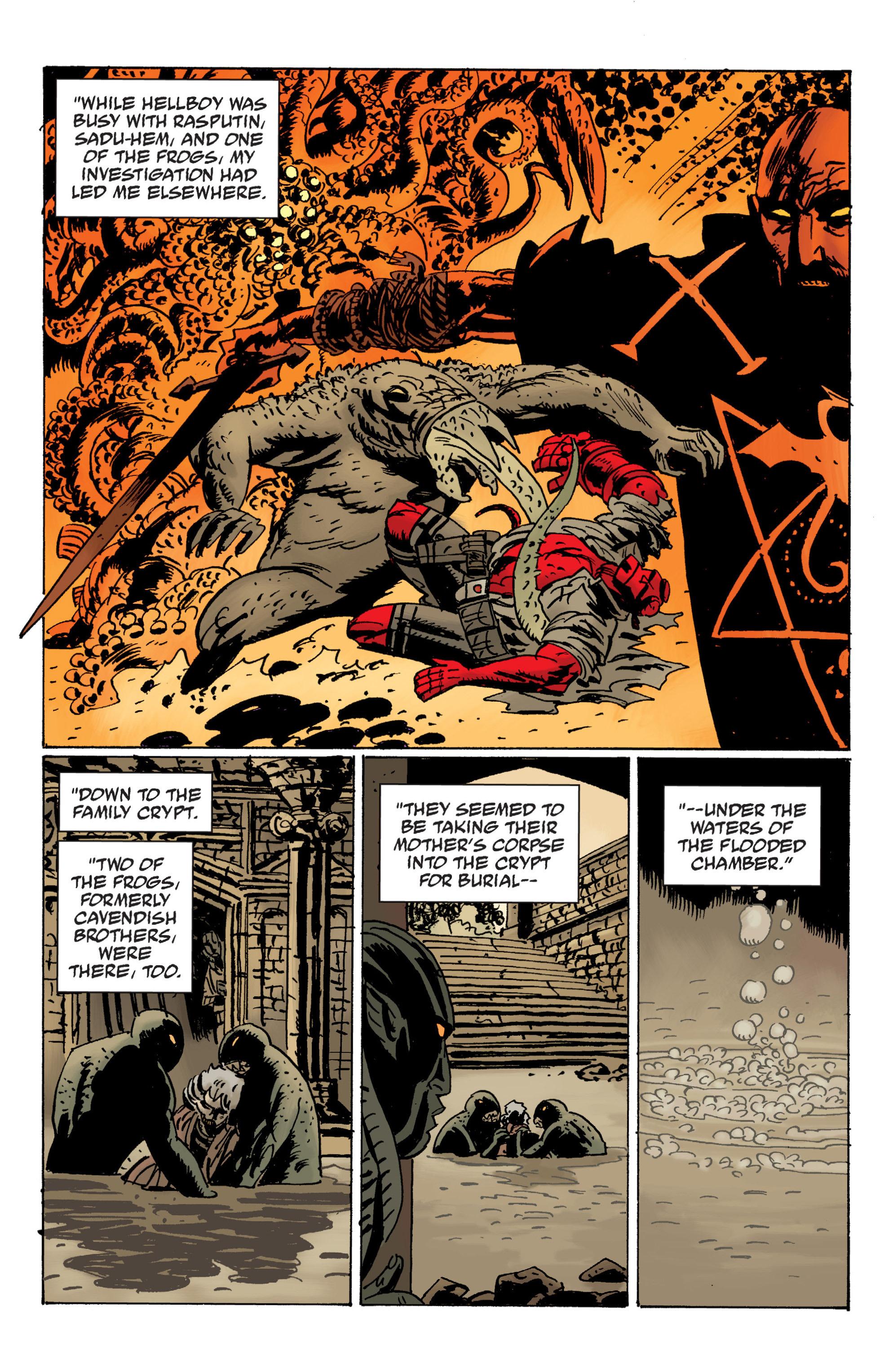 Read online B.P.R.D. (2003) comic -  Issue # TPB 12 - 10