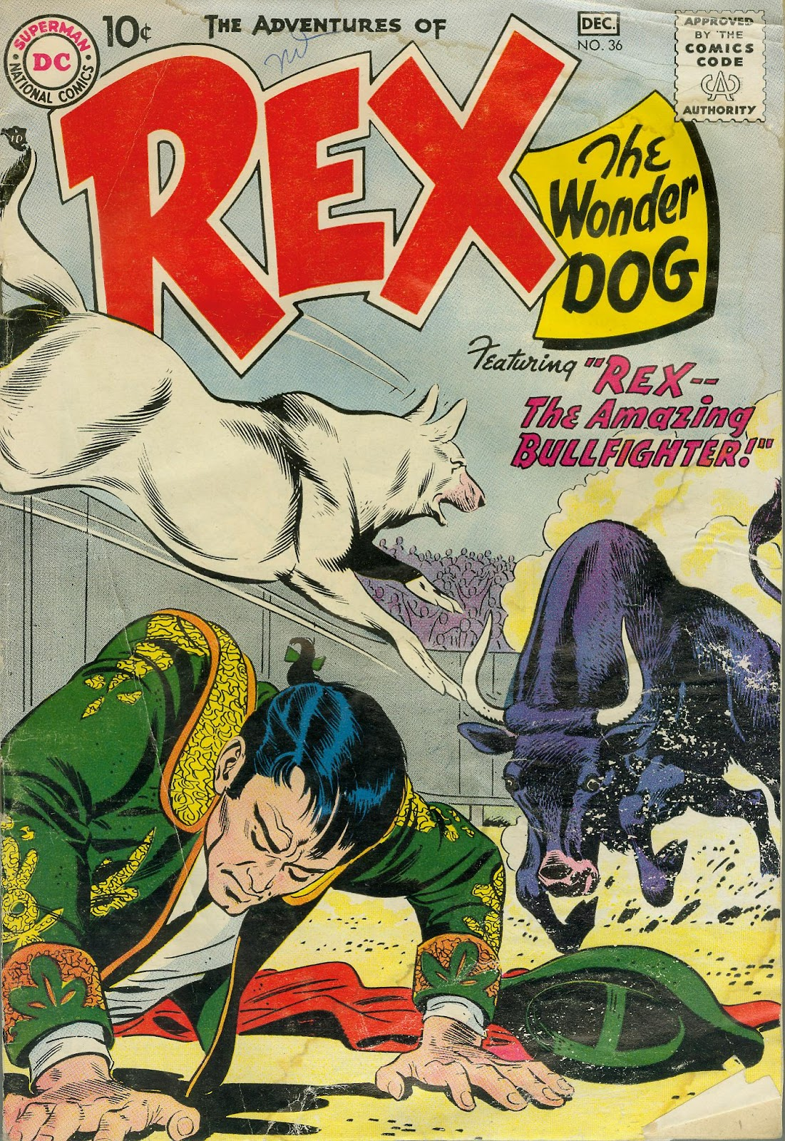 The Adventures of Rex the Wonder Dog issue 36 - Page 1