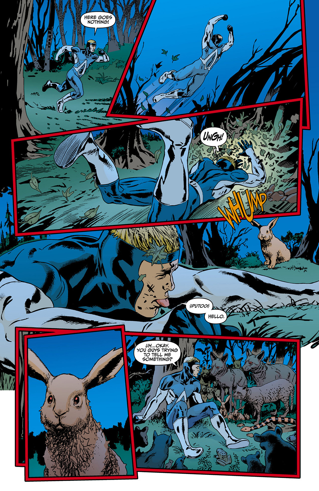 Read online Animal Man (2011) comic -  Issue #0 - 13