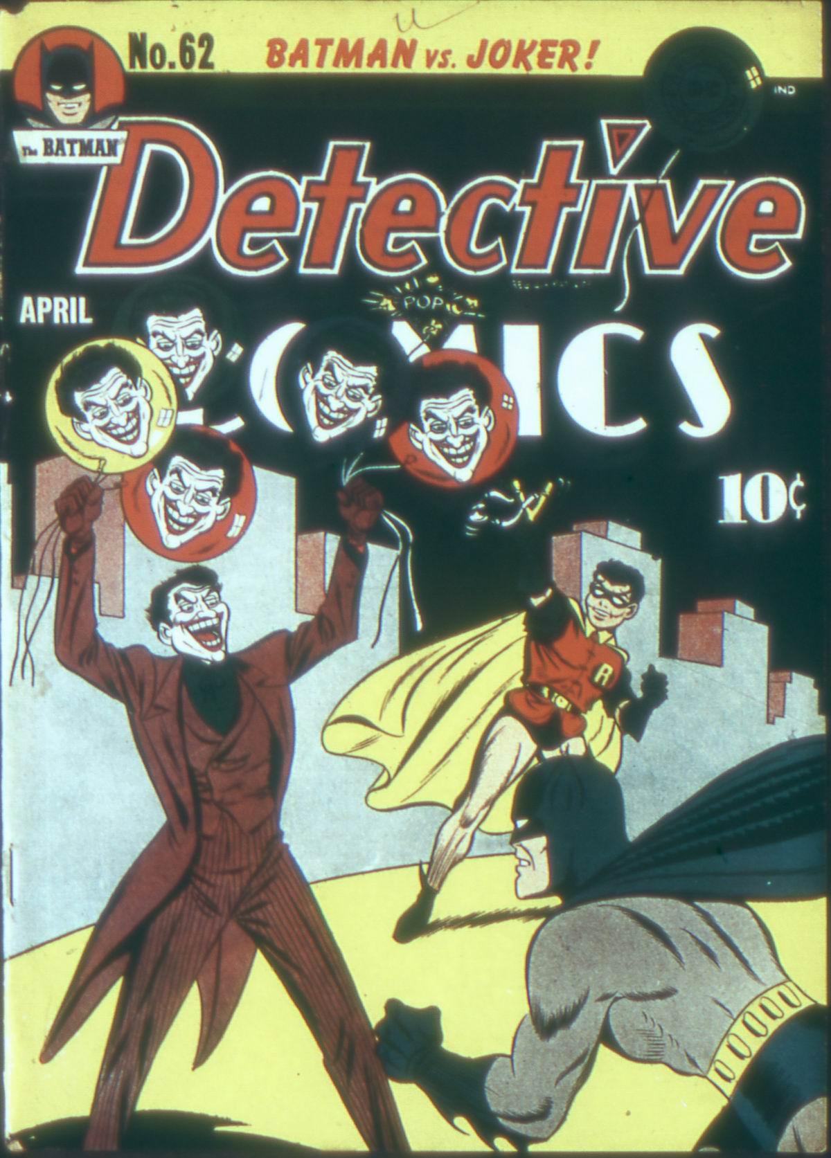 Detective Comics (1937) 62 Page 1