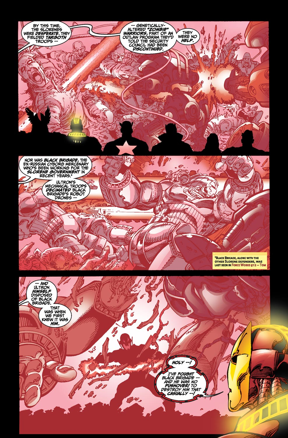 Read online Avengers (1998) comic -  Issue #20 - 5