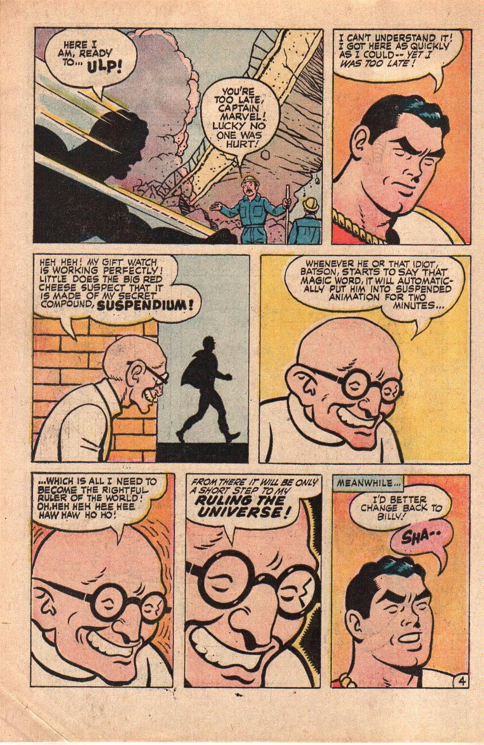 Read online Shazam! (1973) comic -  Issue #6 - 6