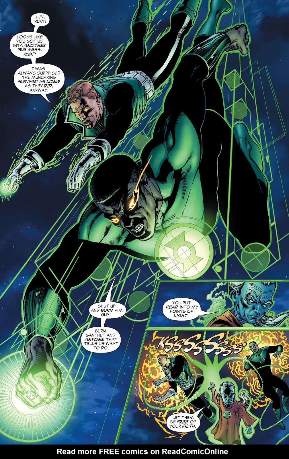 Read online Green Lantern by Geoff Johns comic -  Issue # TPB 1 (Part 1) - 96