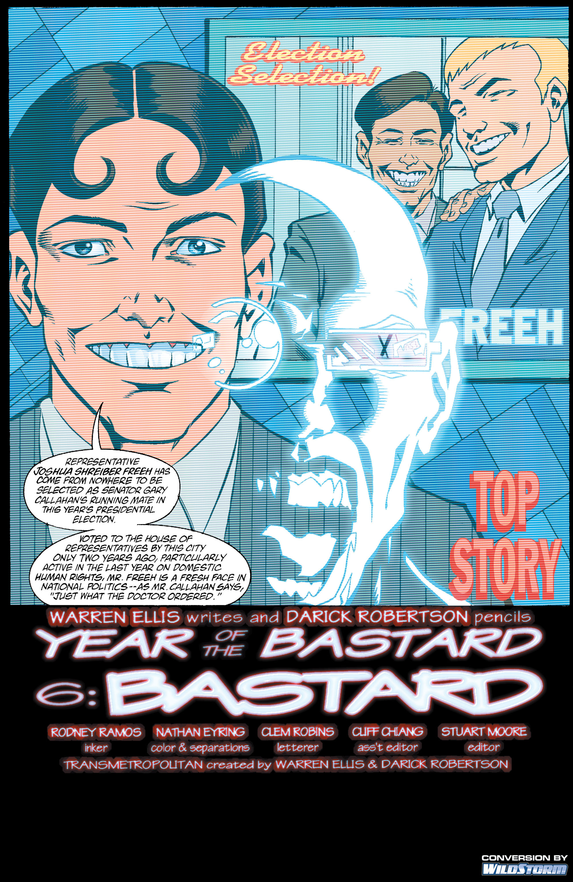 Read online Transmetropolitan comic -  Issue #18 - 2