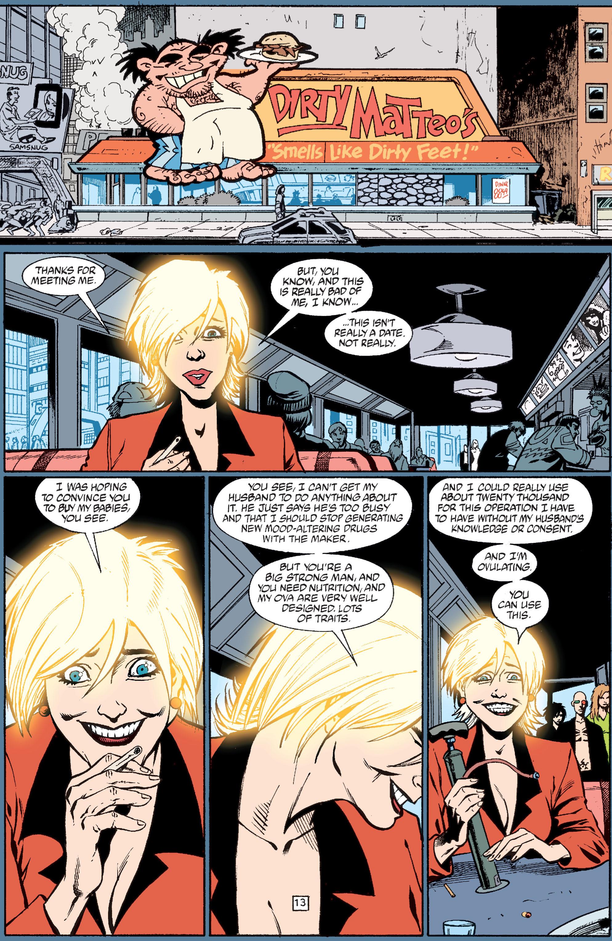 Read online Transmetropolitan comic -  Issue #37 - 14