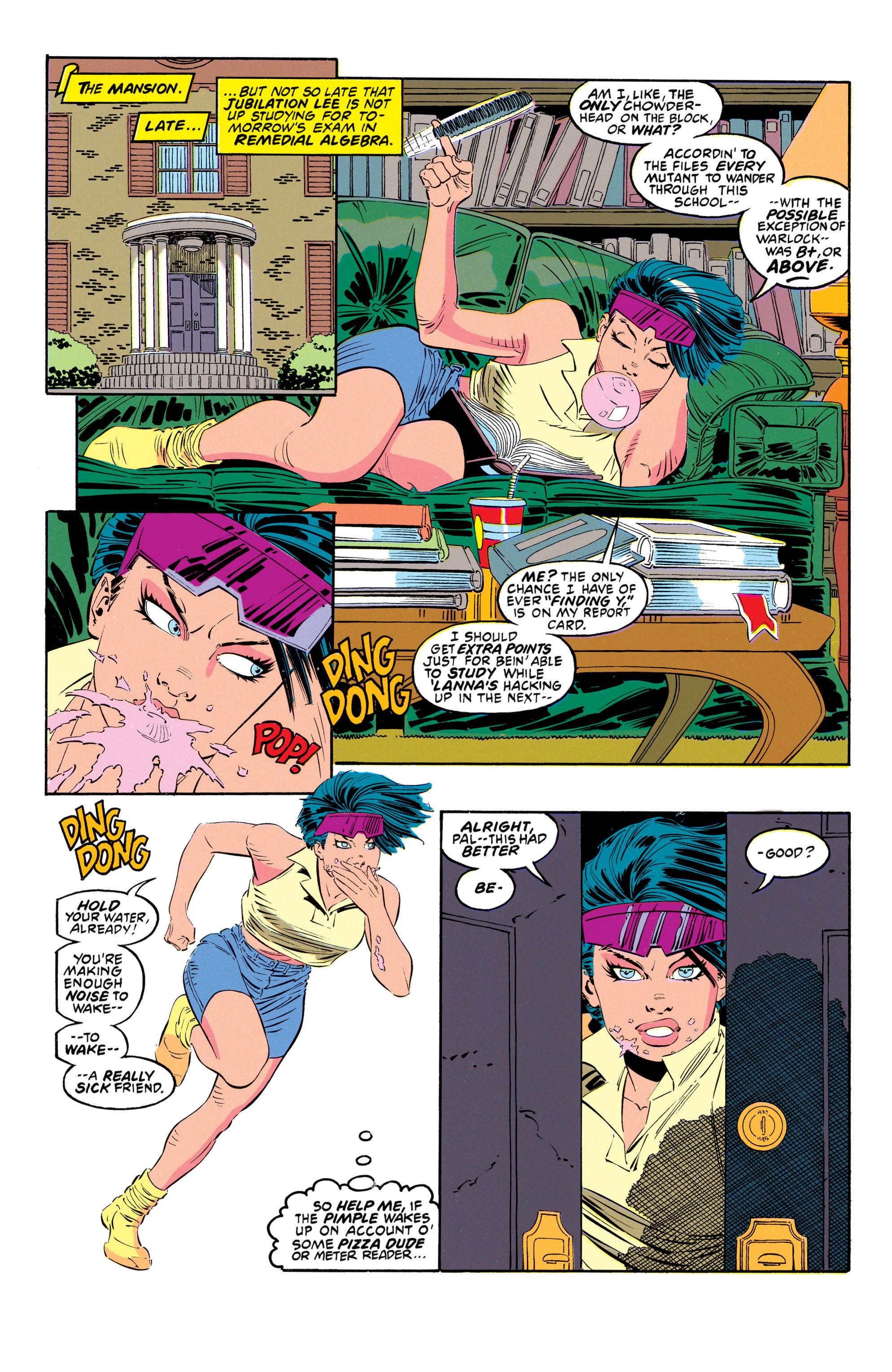 Read online Uncanny X-Men (1963) comic -  Issue #302 - 19