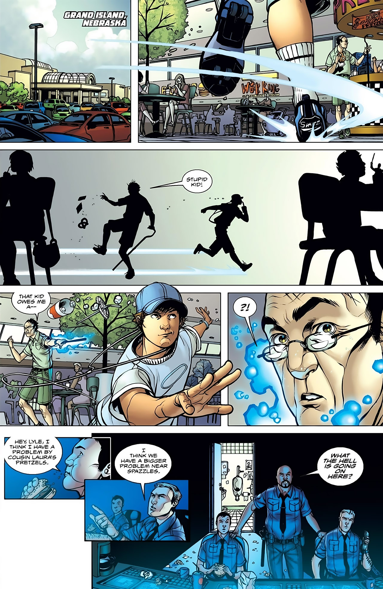 Read online Magus comic -  Issue #1 - 20
