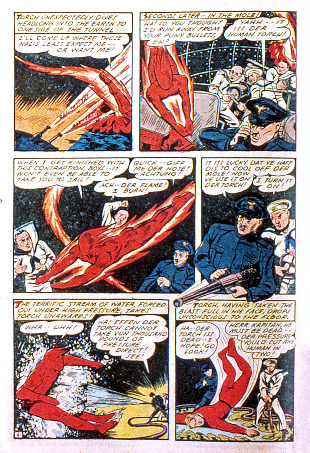 Read online Mystic Comics (1944) comic -  Issue #1 - 22