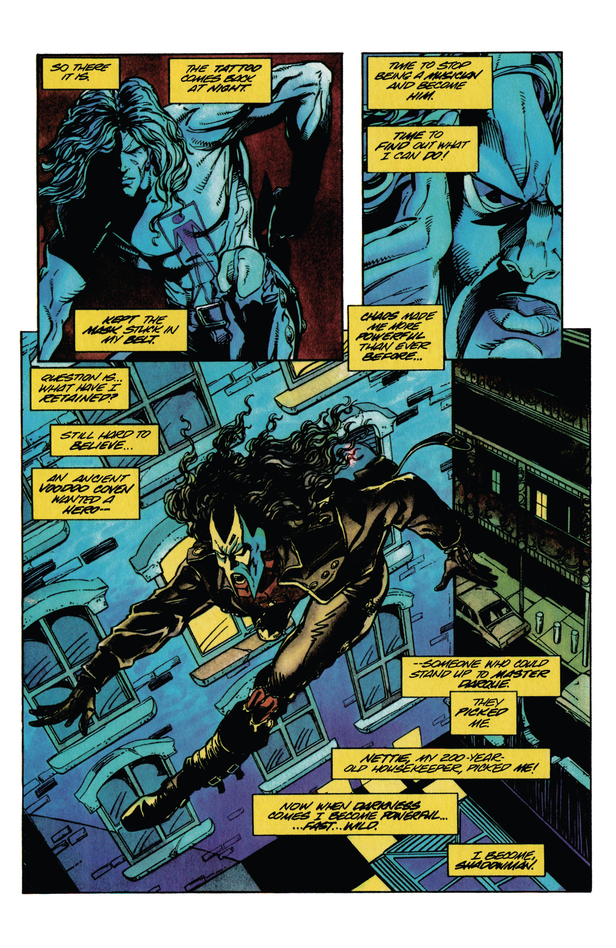 Read online Shadowman (1992) comic -  Issue #30 - 10