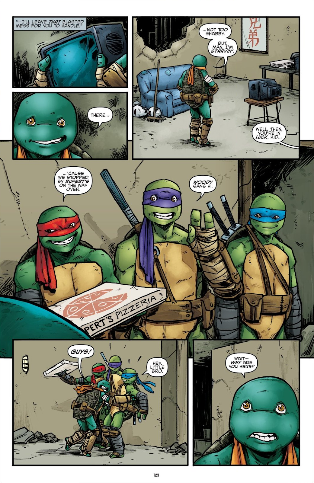 Read online Teenage Mutant Ninja Turtles: The IDW Collection comic -  Issue # TPB 7 (Part 2) - 19