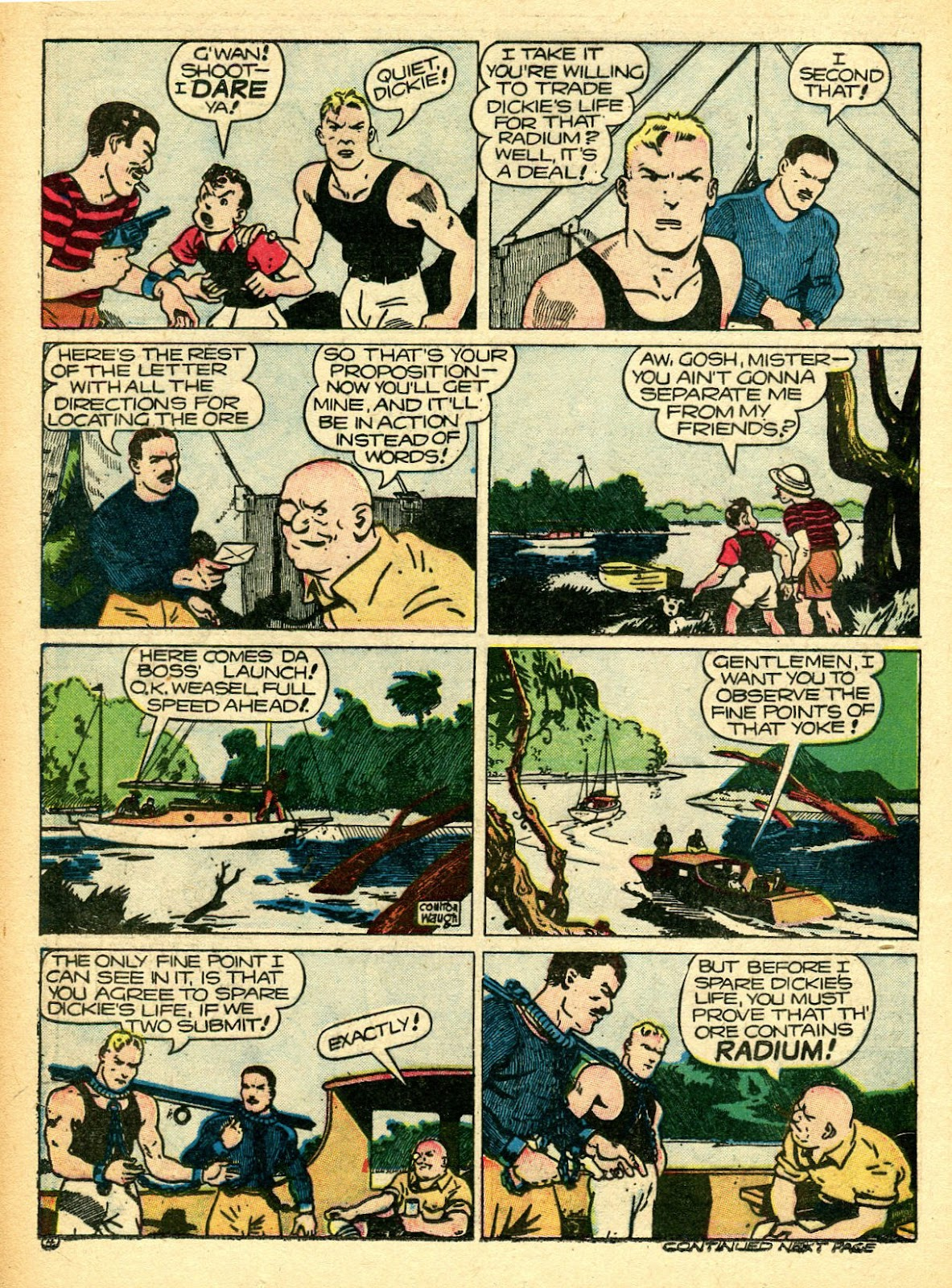 Read online Famous Funnies comic -  Issue #94 - 28