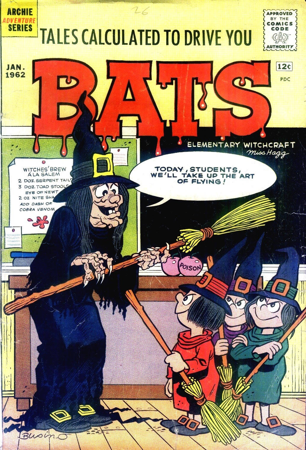 Read online Tales Calculated to Drive You Bats comic -  Issue #2 - 1