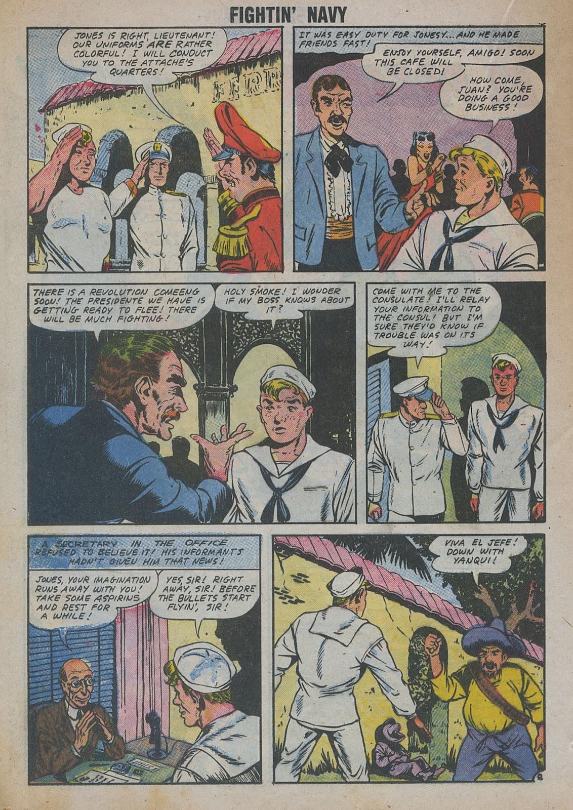 Read online Fightin' Navy comic -  Issue #82 - 30